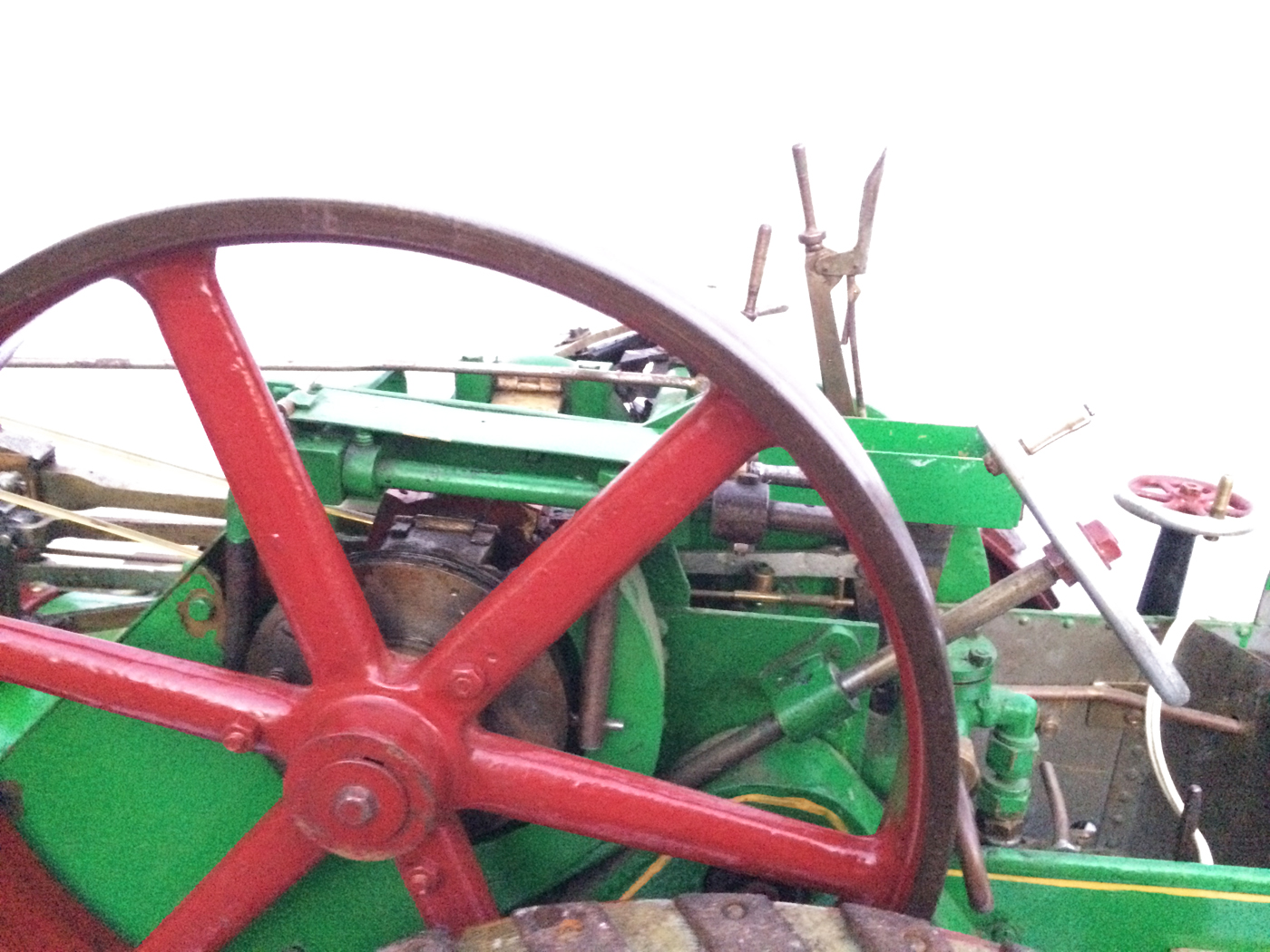 test 3 inch Scale plastow Burrell Traction engine live steam for sale 04