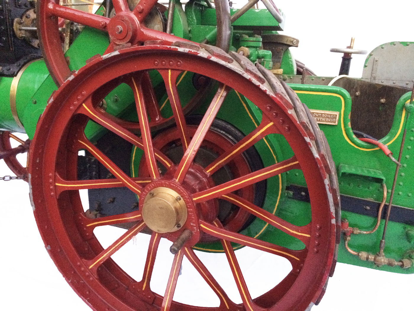 test 3 inch Scale plastow Burrell Traction engine live steam for sale 06