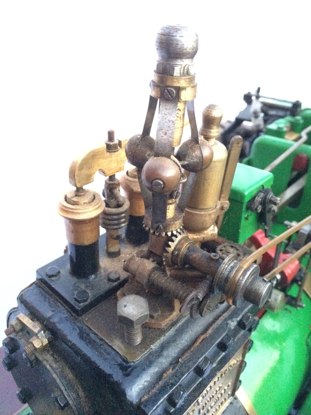 test 3 inch Scale plastow Burrell Traction engine live steam for sale 07