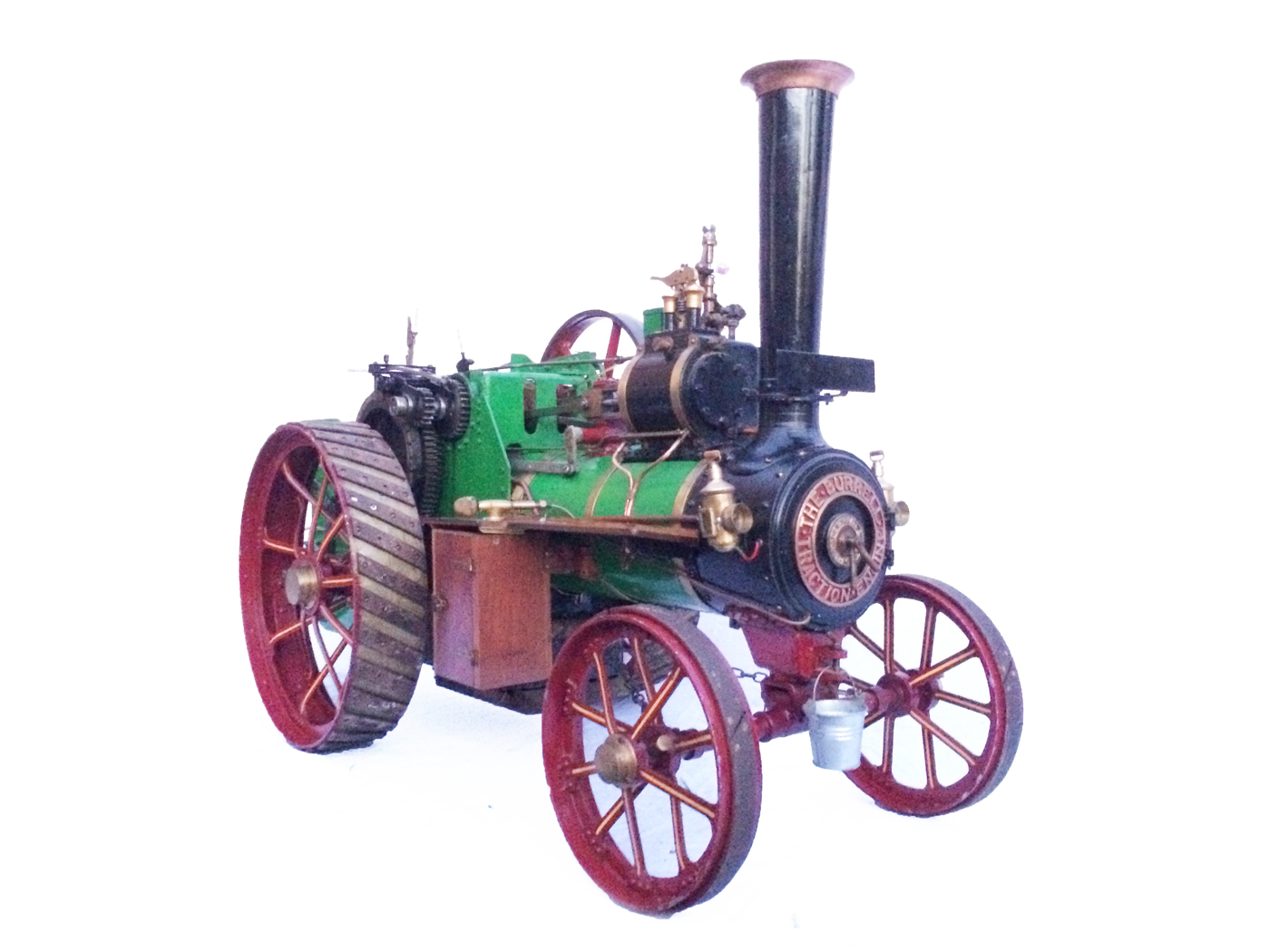 test 3 inch Scale plastow Burrell Traction engine live steam for sale 08