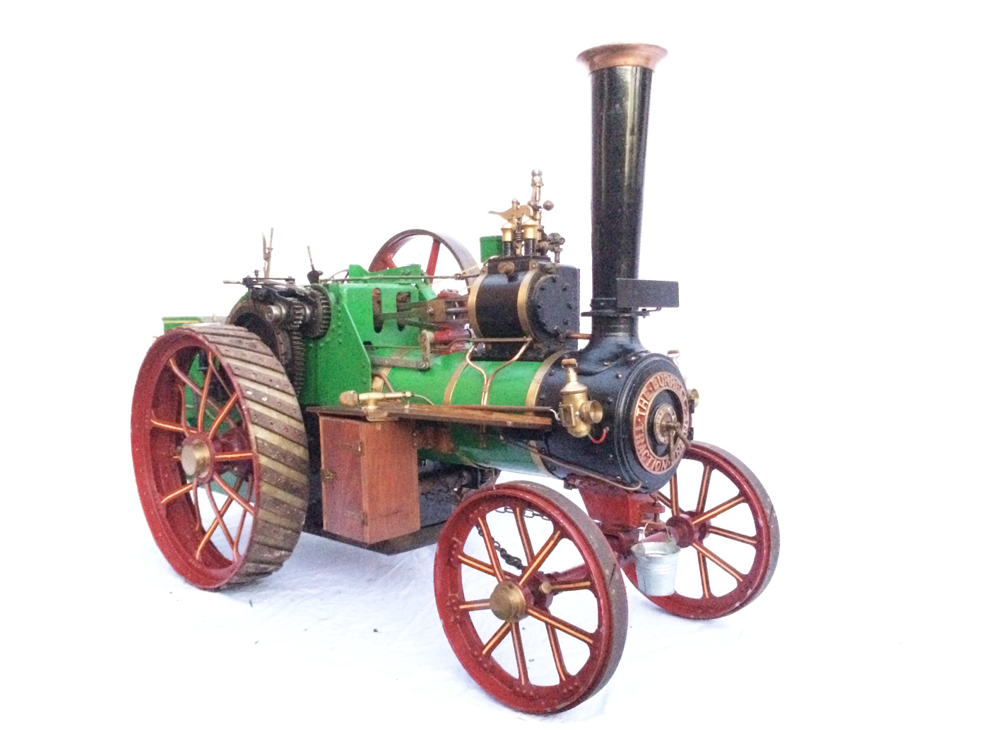 test 3 inch Scale plastow Burrell Traction engine live steam for sale 10