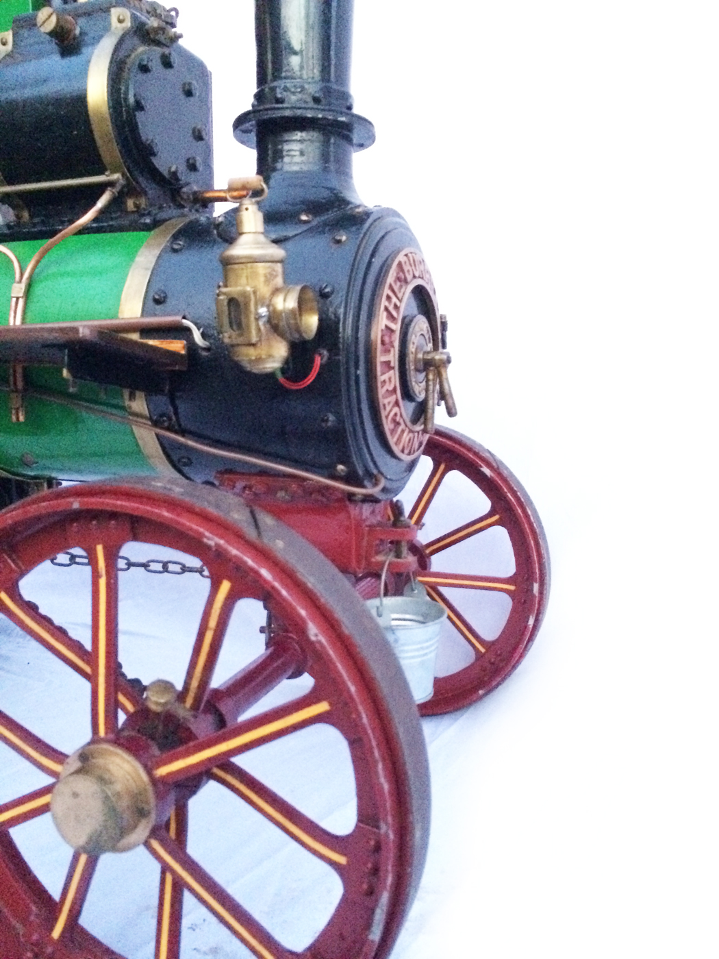 test 3 inch Scale plastow Burrell Traction engine live steam for sale 12
