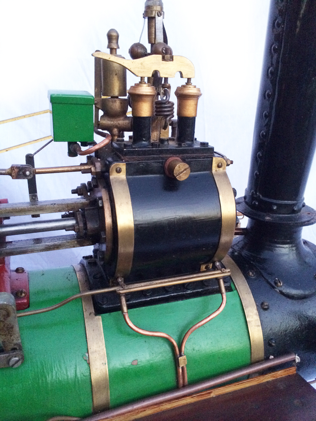 test 3 inch Scale plastow Burrell Traction engine live steam for sale 14