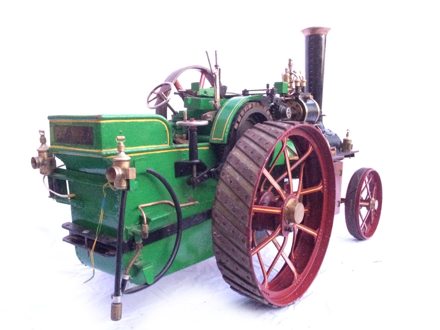 test 3 inch Scale plastow Burrell Traction engine live steam for sale 18
