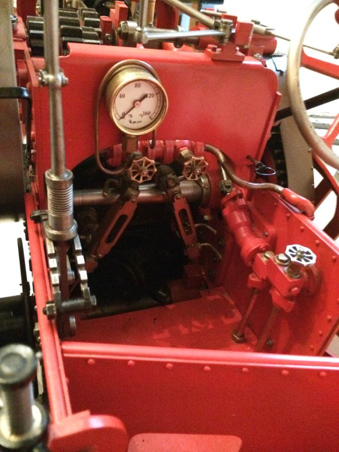 test 3 inch scale Marshall Traction Engine for sale 01-Optimized