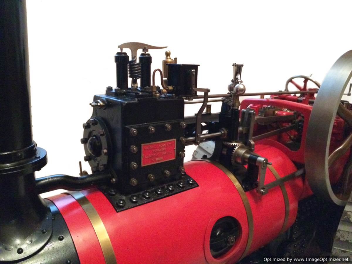 test 3 inch scale Marshall Traction Engine for sale 03-Optimized