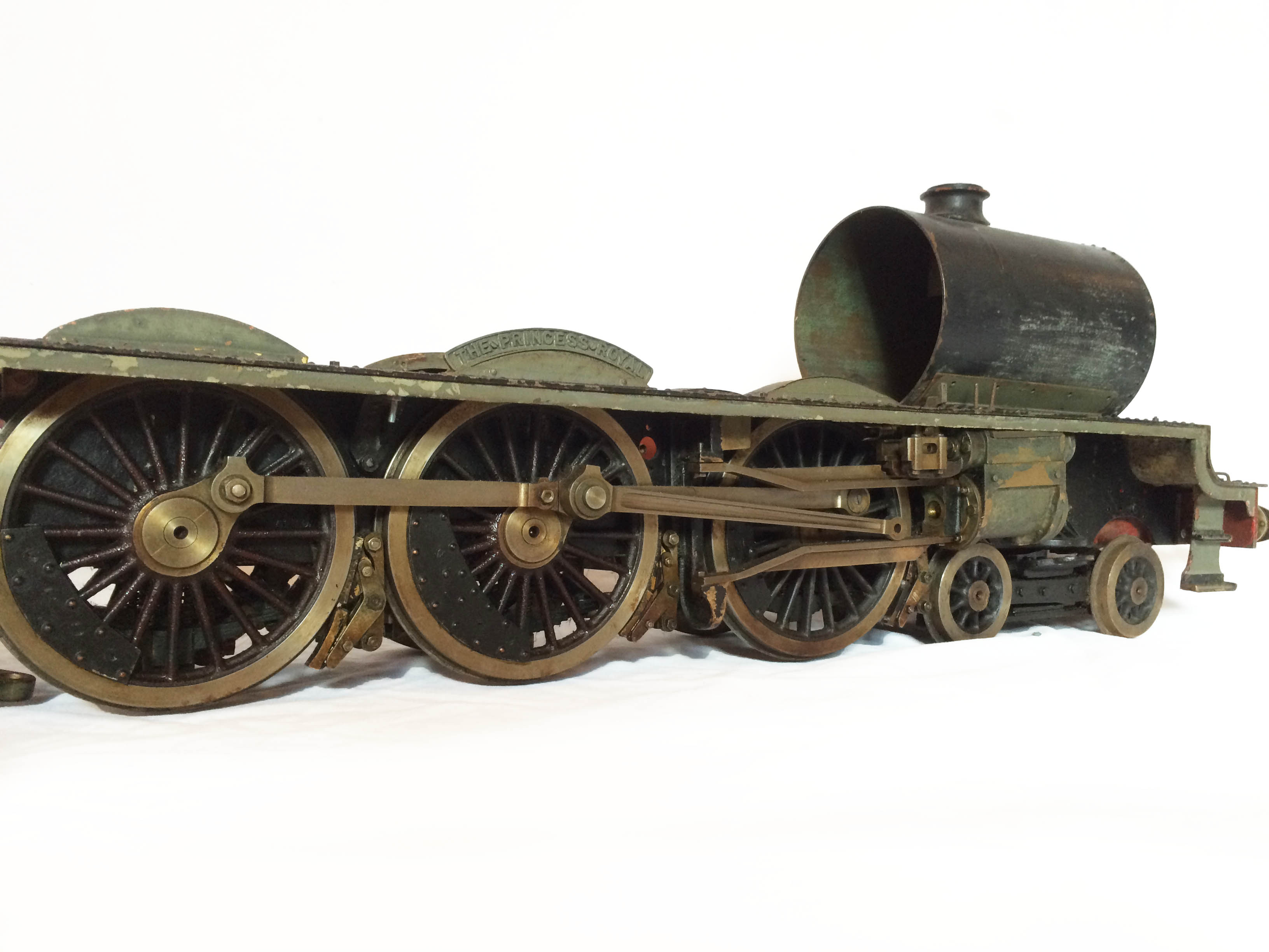test LMS Princess Royal loco 10