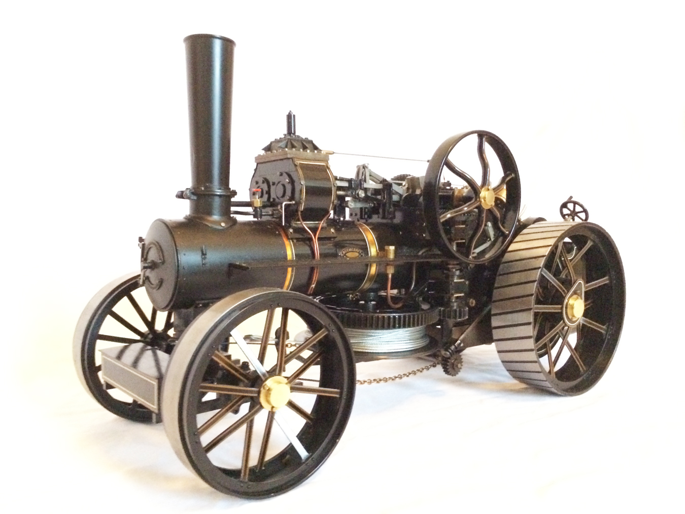 test fowler BB1 ploughing engine 08