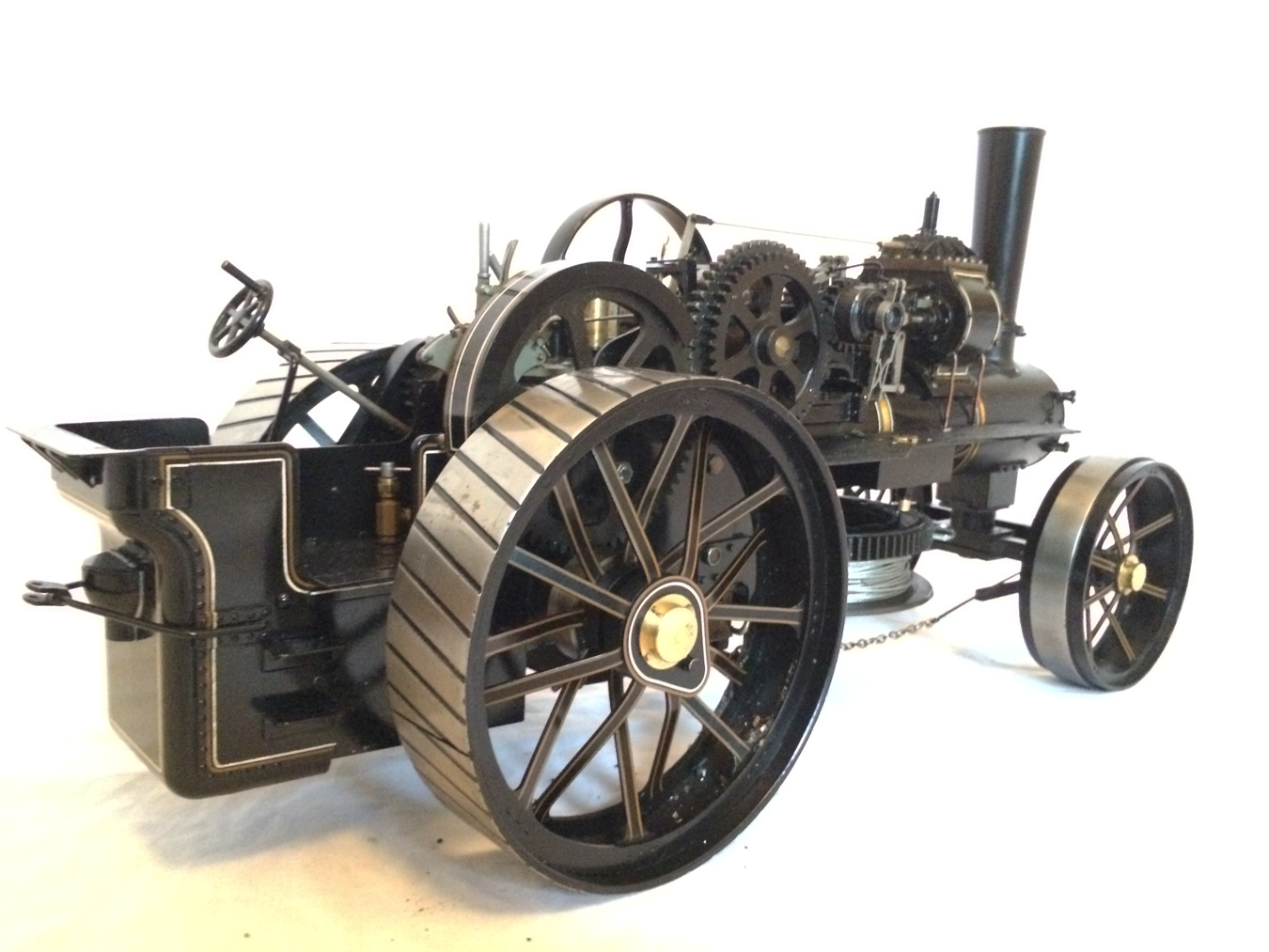 test fowler BB1 ploughing engine 09