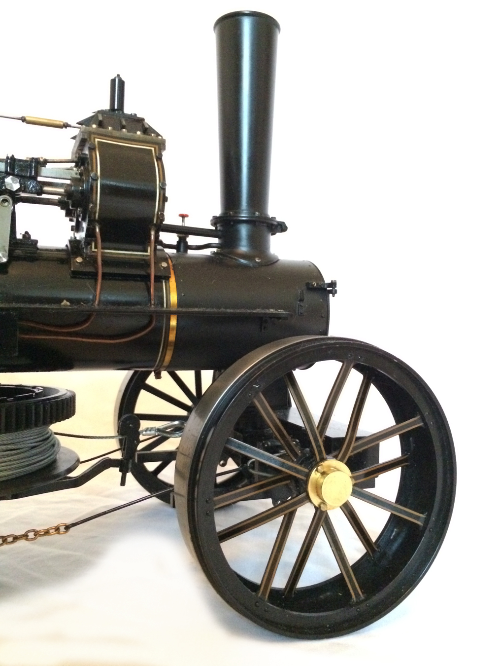 test fowler BB1 ploughing engine 10