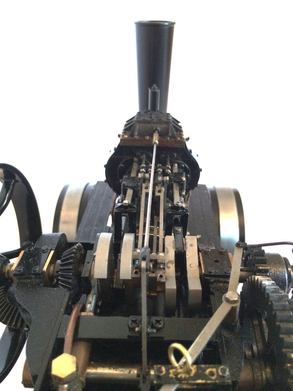 test fowler BB1 ploughing engine 15
