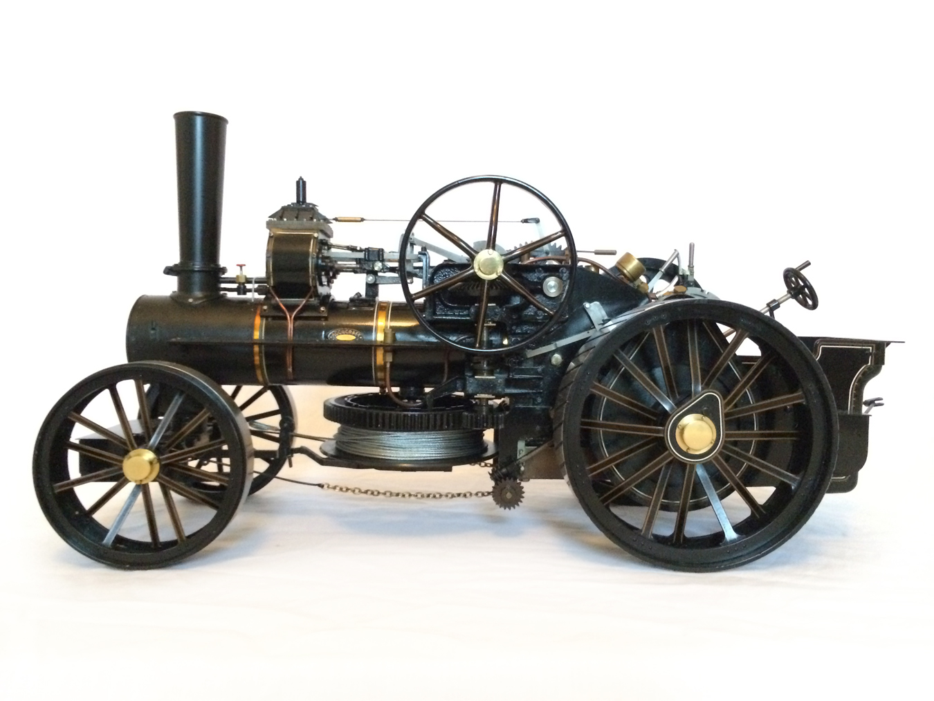 test fowler BB1 ploughing engine 16