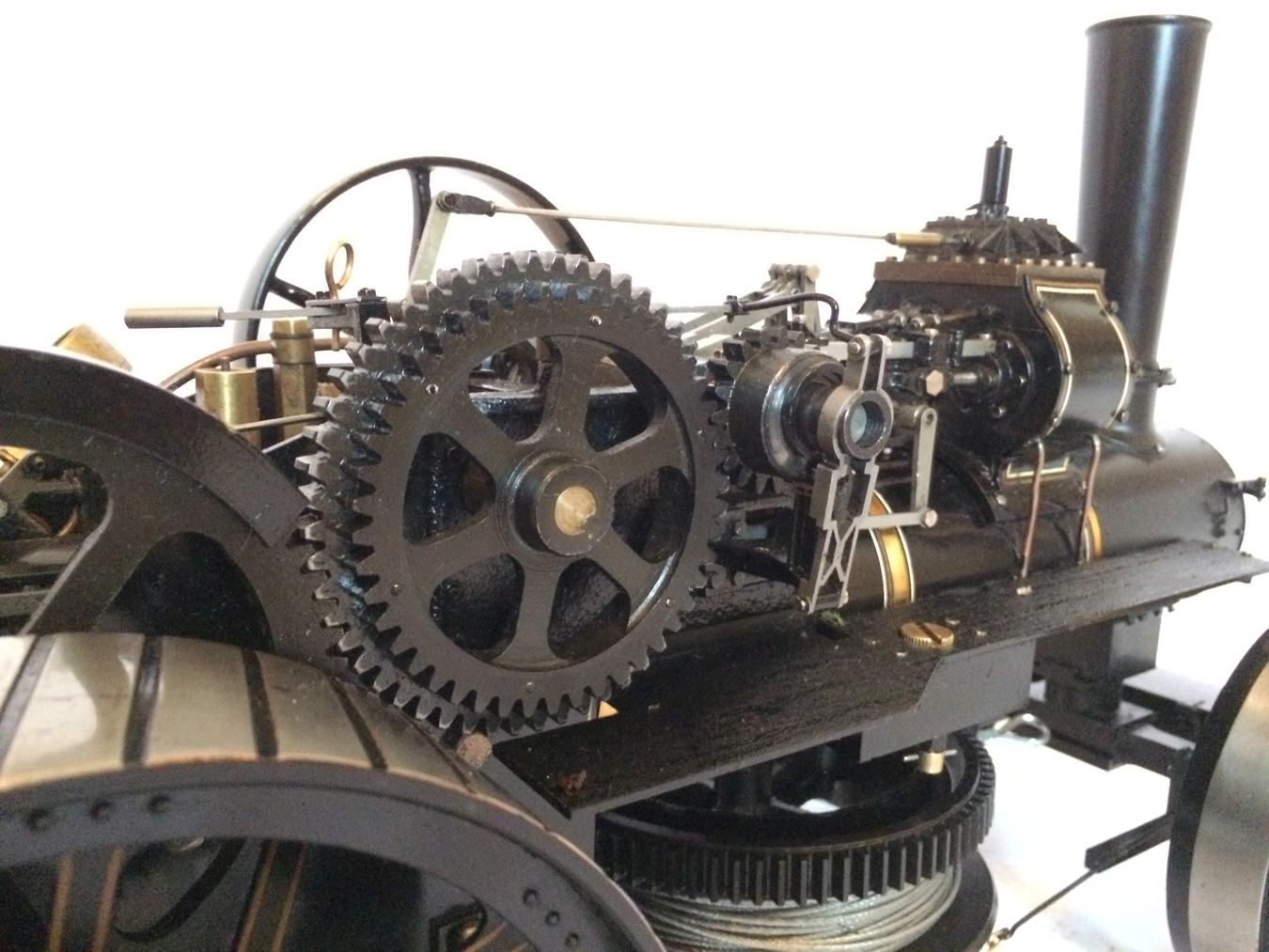 test fowler BB1 ploughing engine 20