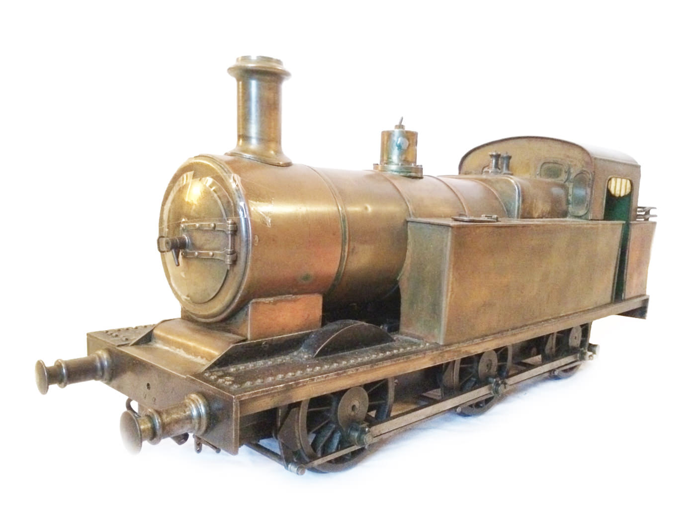test 3 and a half inch live steam LMS Jinty for sale 01