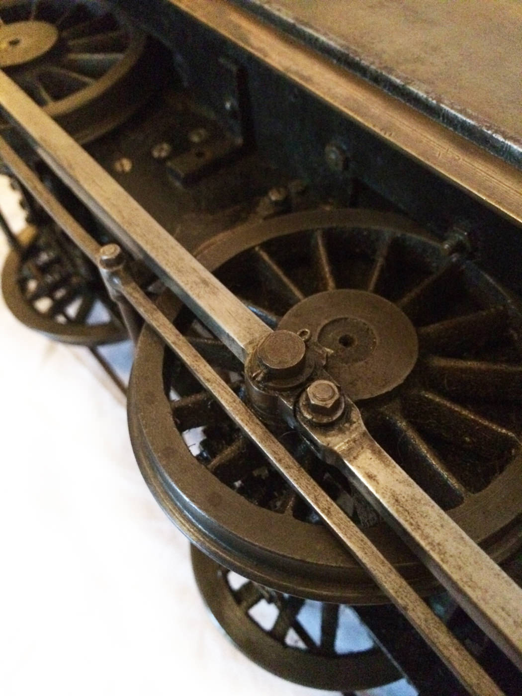 test 3 and a half inch live steam LMS Jinty for sale 02
