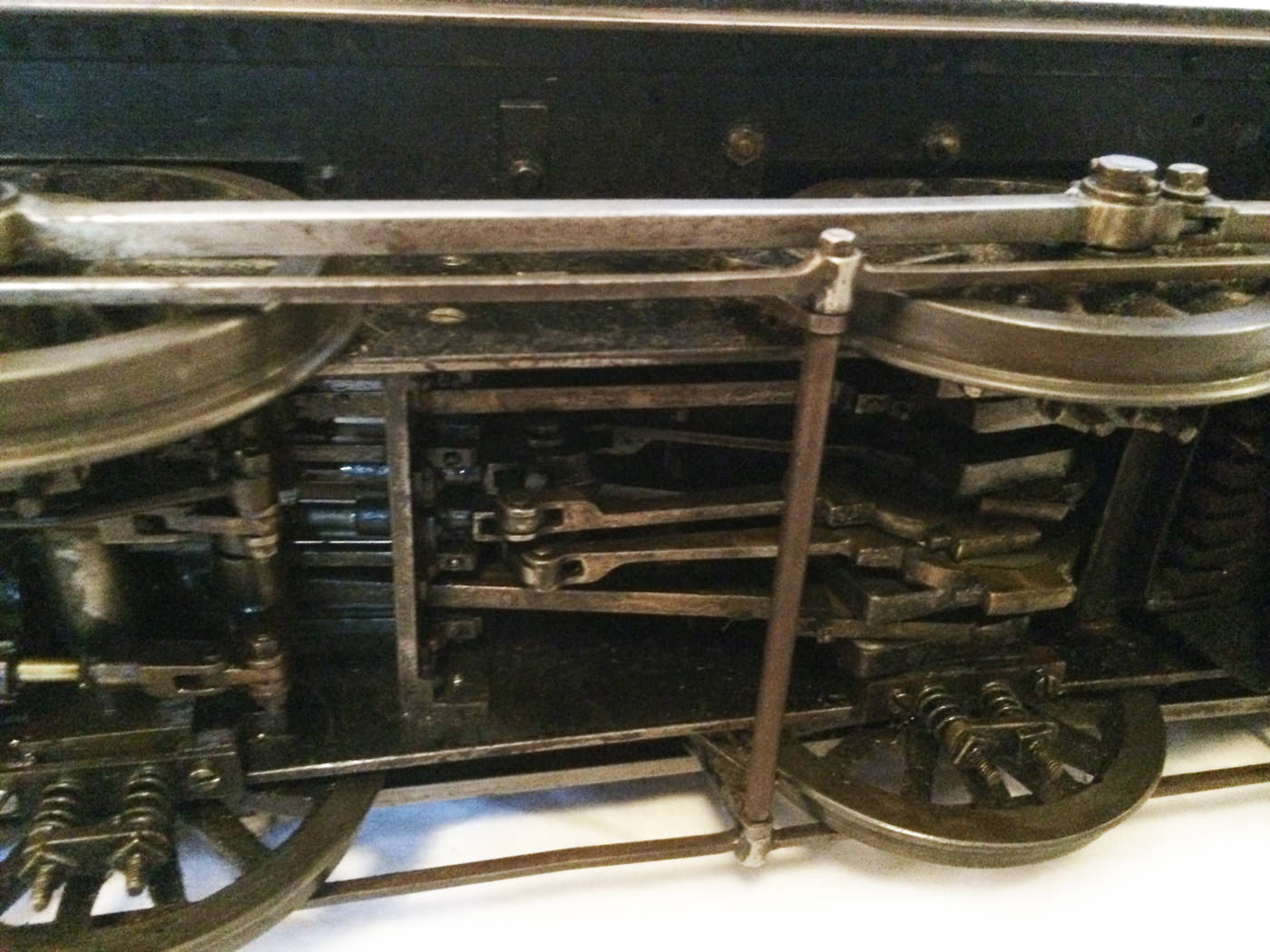 test 3 and a half inch live steam LMS Jinty for sale 04