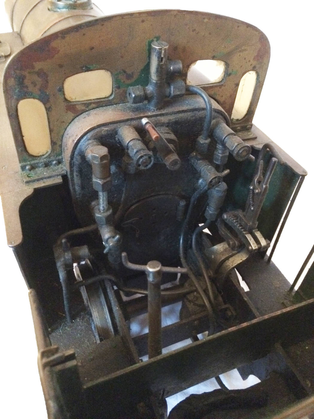 test 3 and a half inch live steam LMS Jinty for sale 05