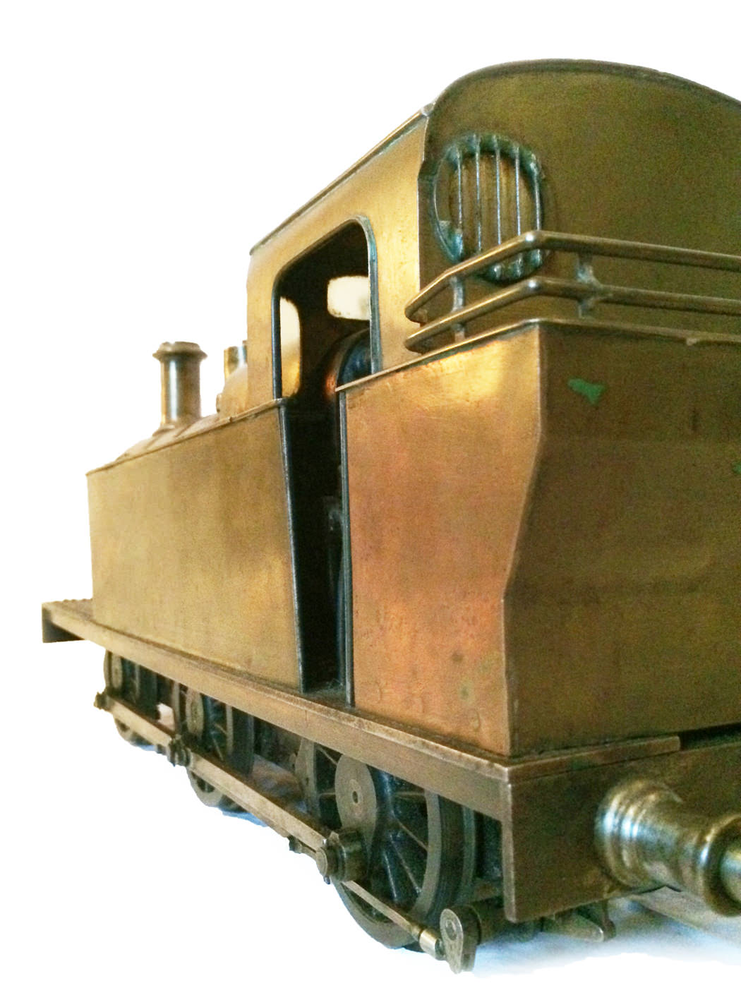 test 3 and a half inch live steam LMS Jinty for sale 06