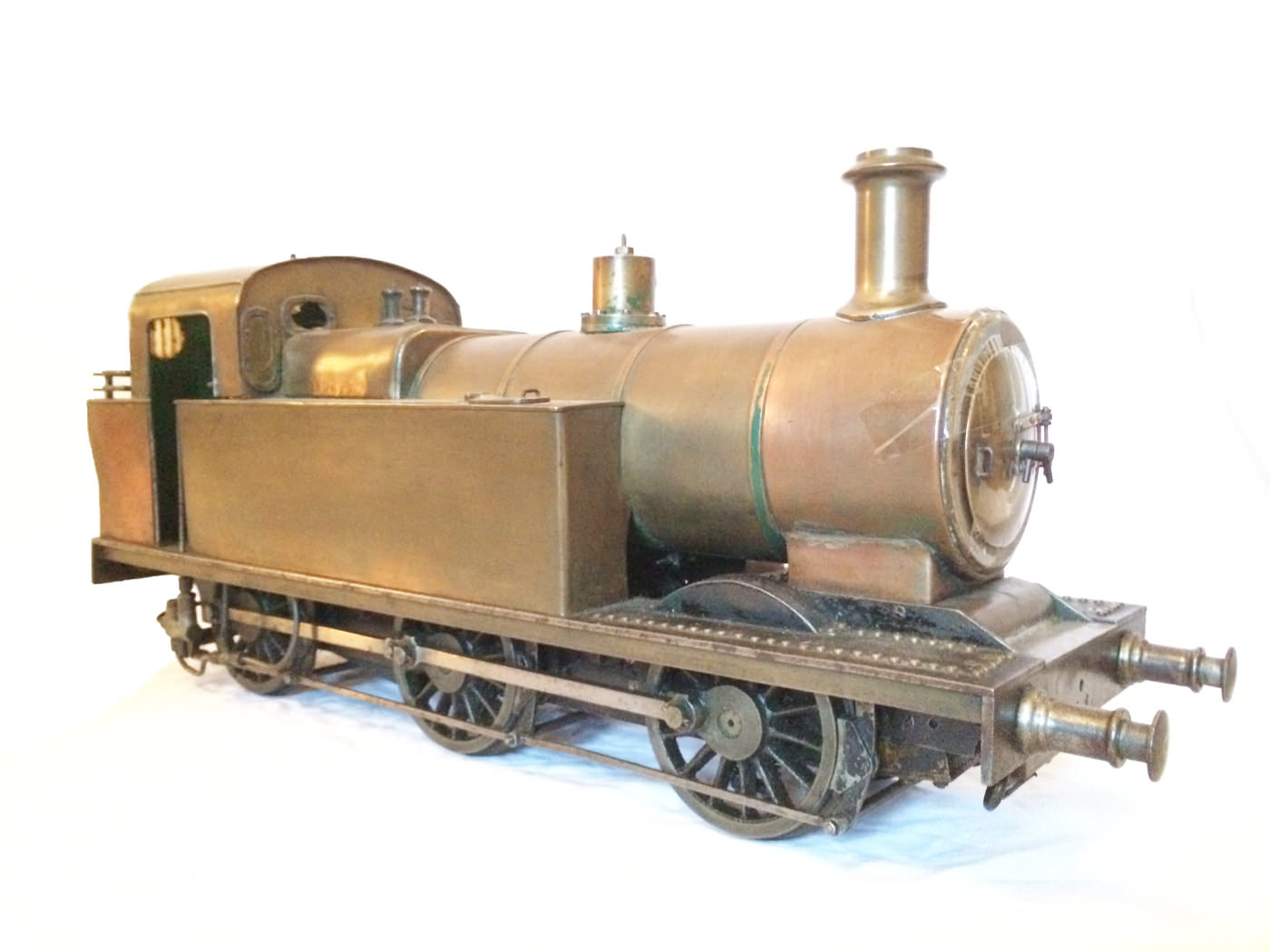 test 3 and a half inch live steam LMS Jinty for sale 09