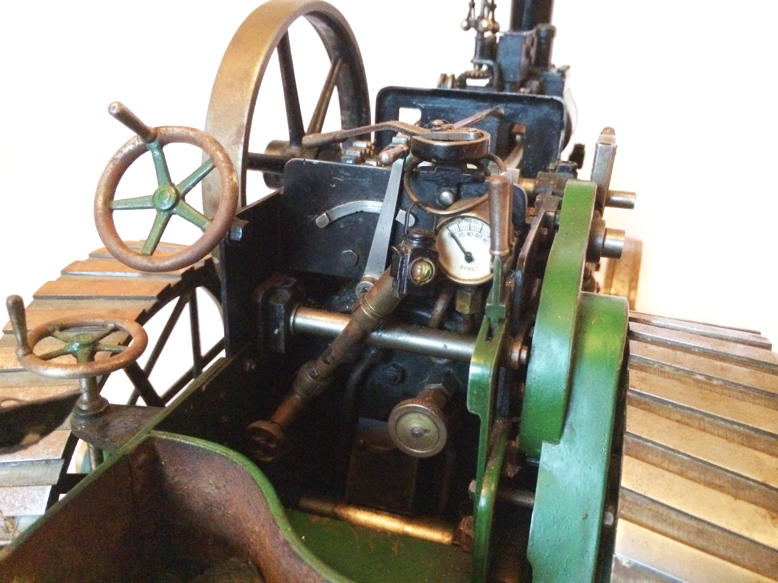 test Davey Paxman Traction Engine 03