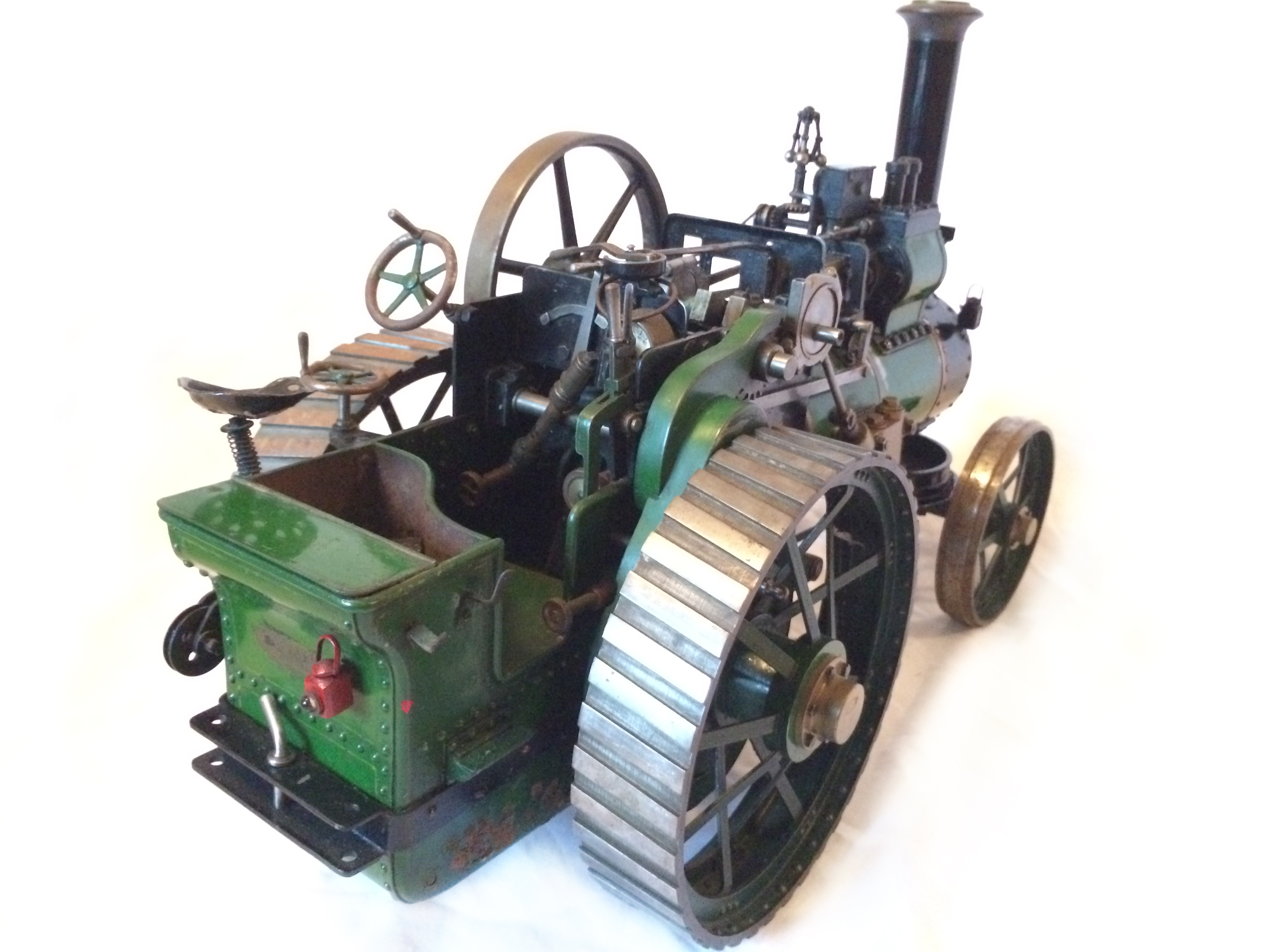 test Davey Paxman Traction Engine 04