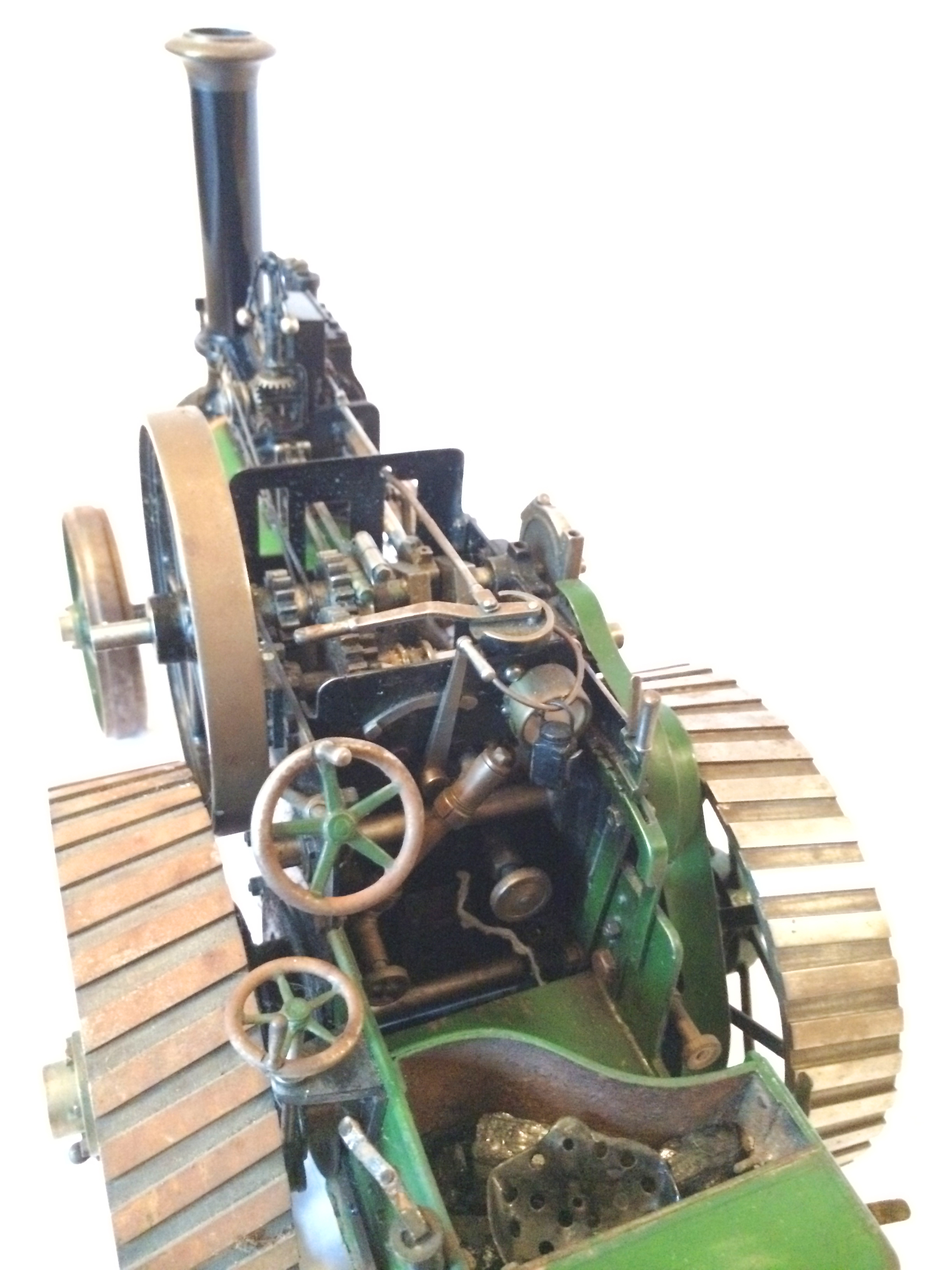 test Davey Paxman Traction Engine 06