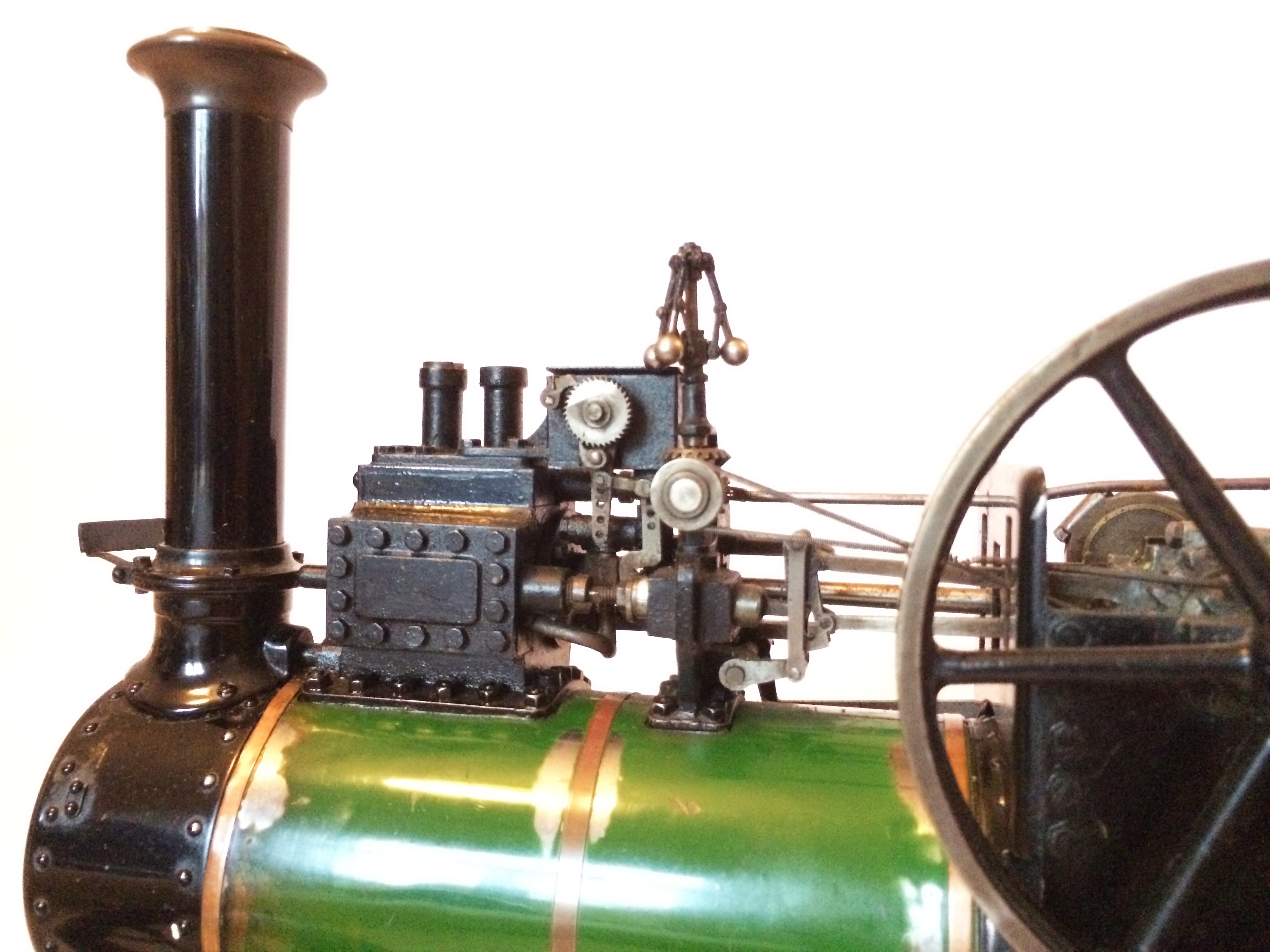 test Davey Paxman Traction Engine 07
