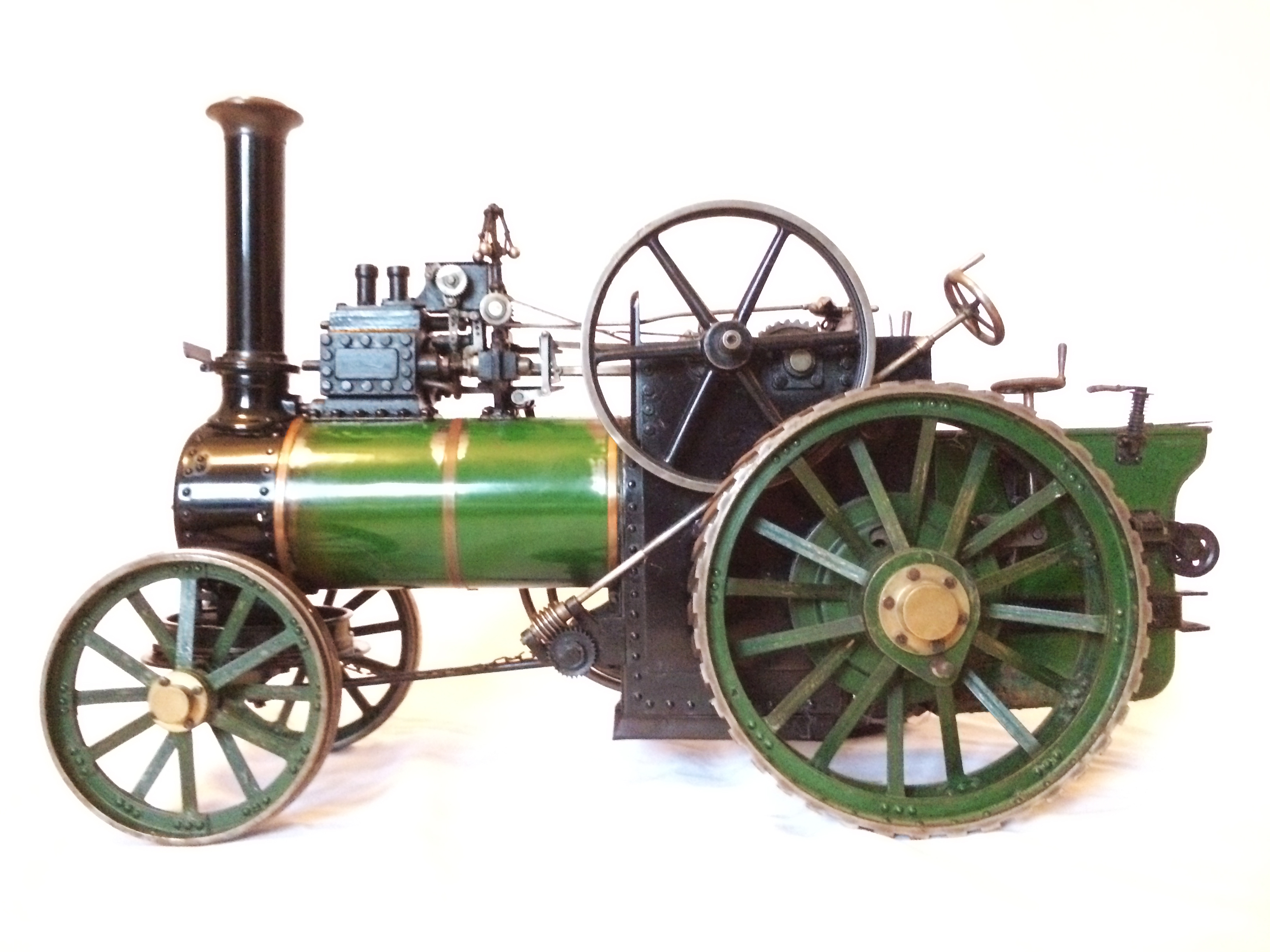 test Davey Paxman Traction Engine 08