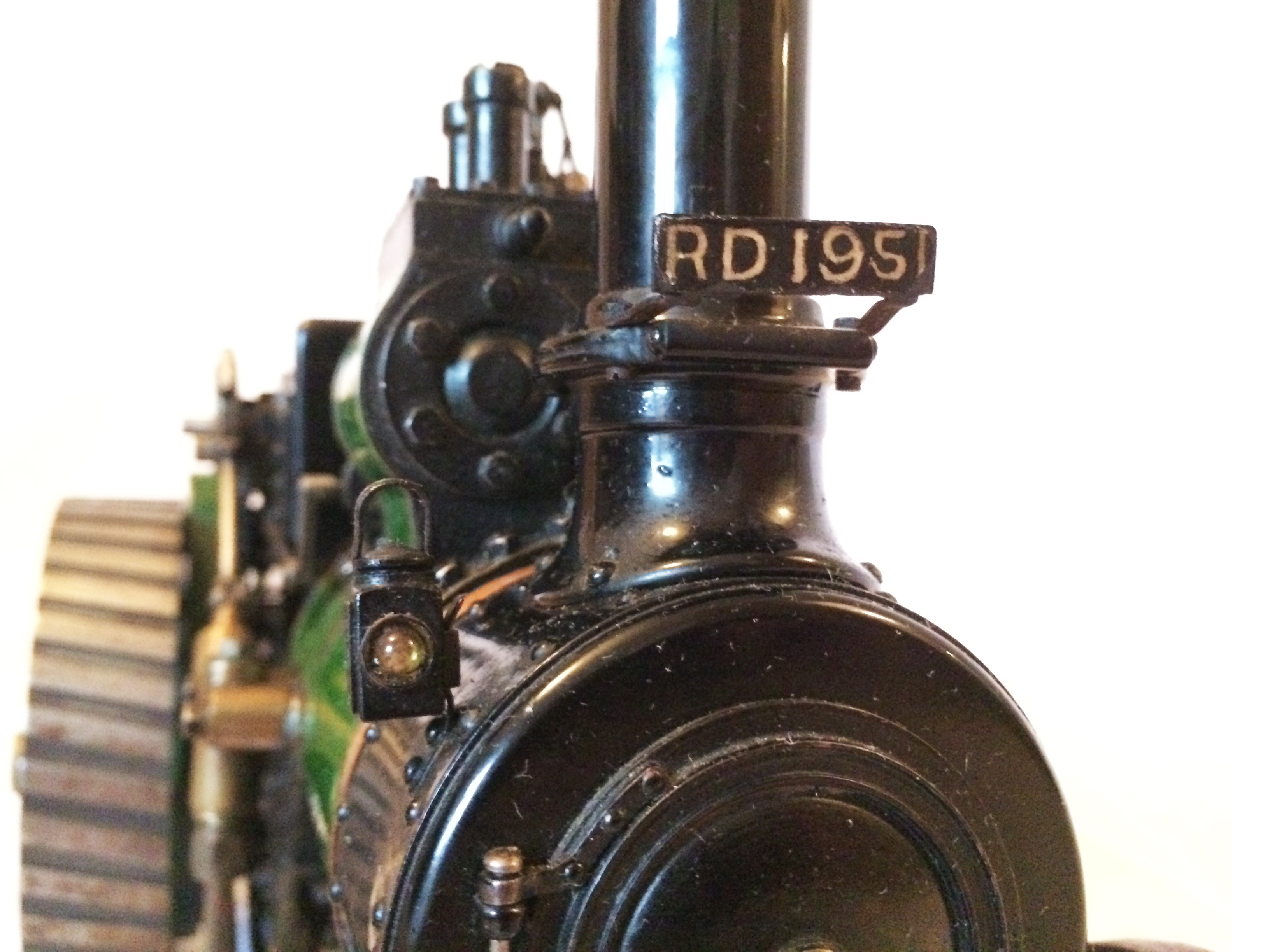 test Davey Paxman Traction Engine 10