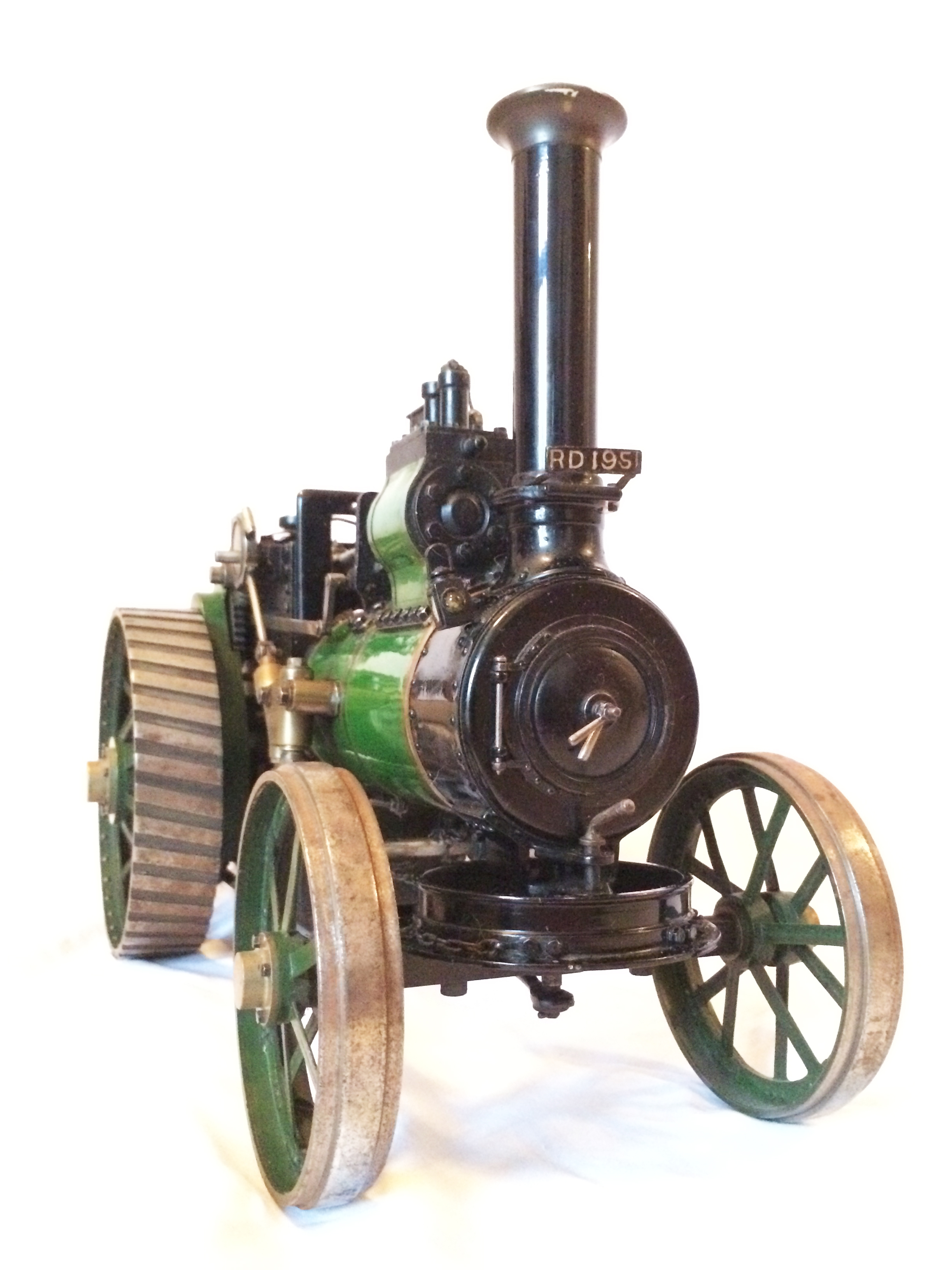 test Davey Paxman Traction Engine 11