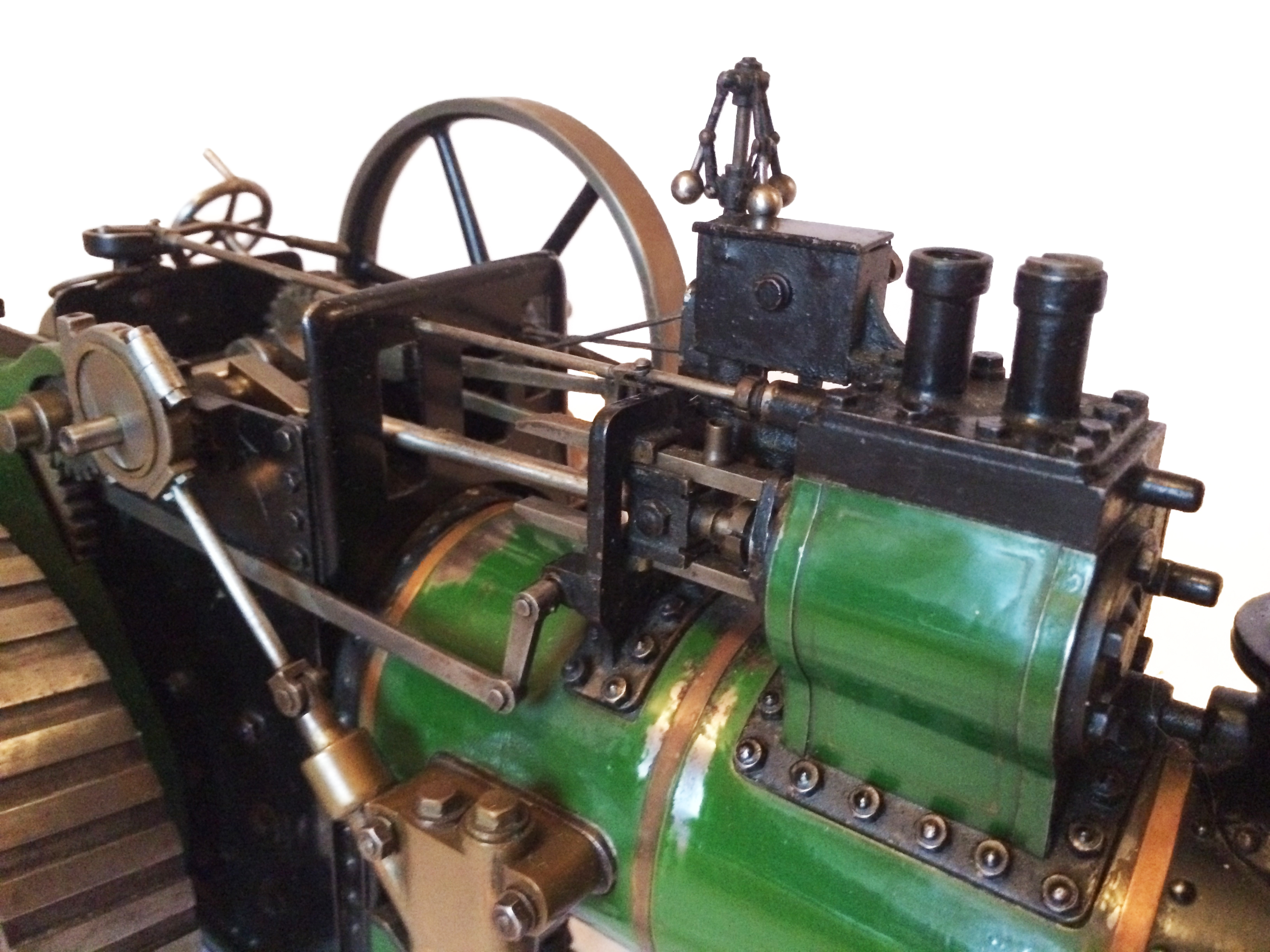 test Davey Paxman Traction Engine 12