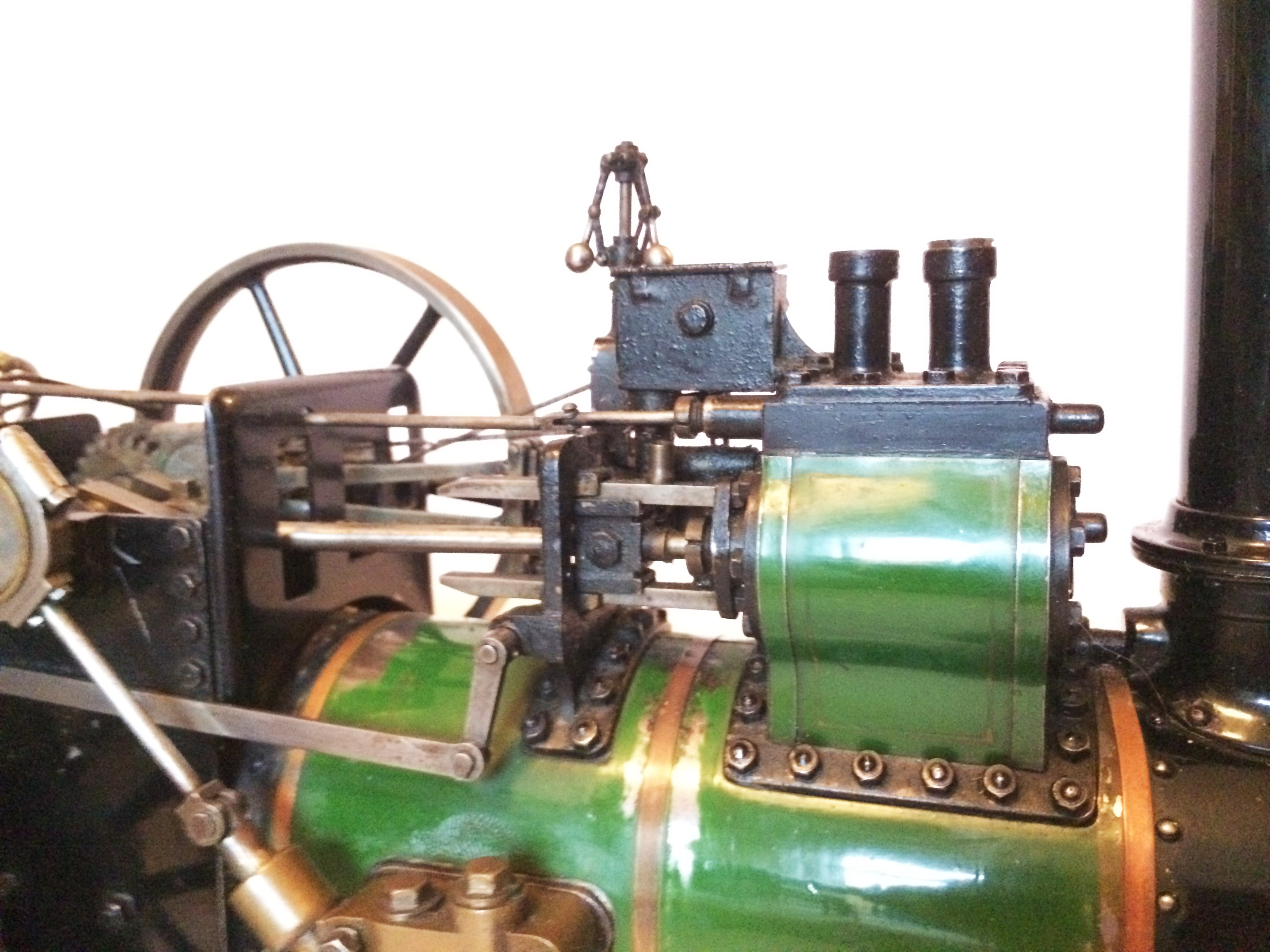 test Davey Paxman Traction Engine 13