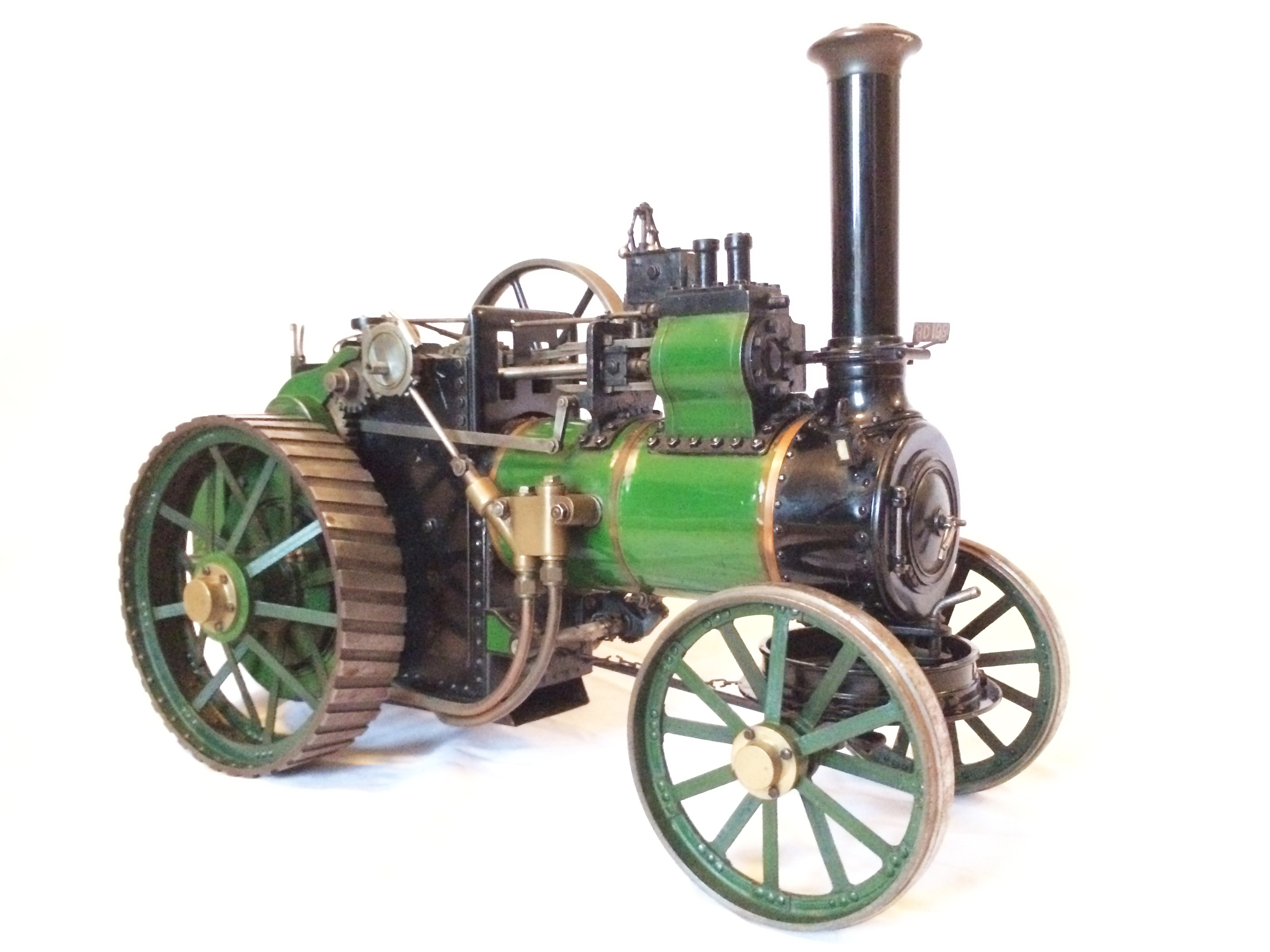 test Davey Paxman Traction Engine 14