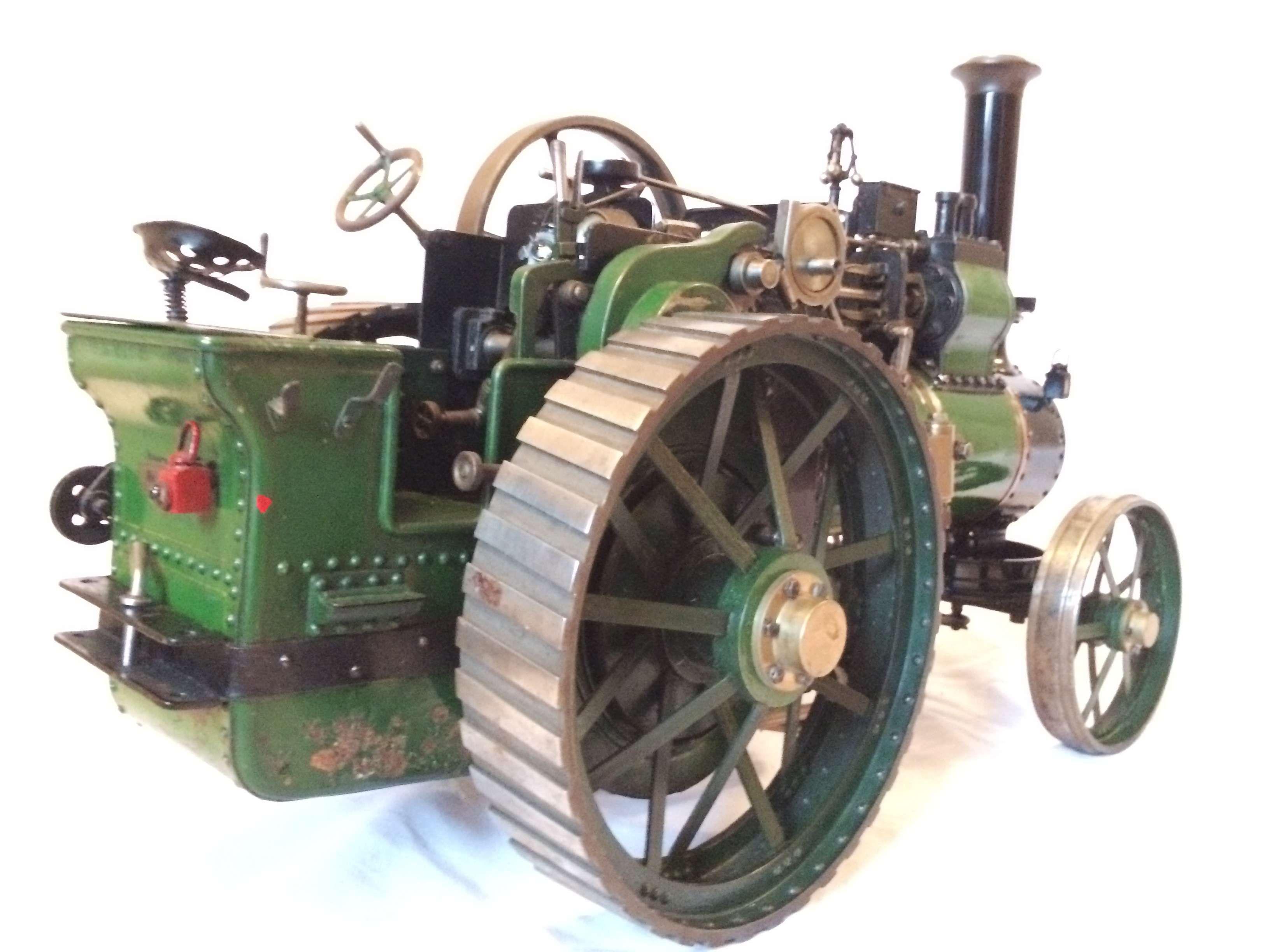 test Davey Paxman Traction Engine 15