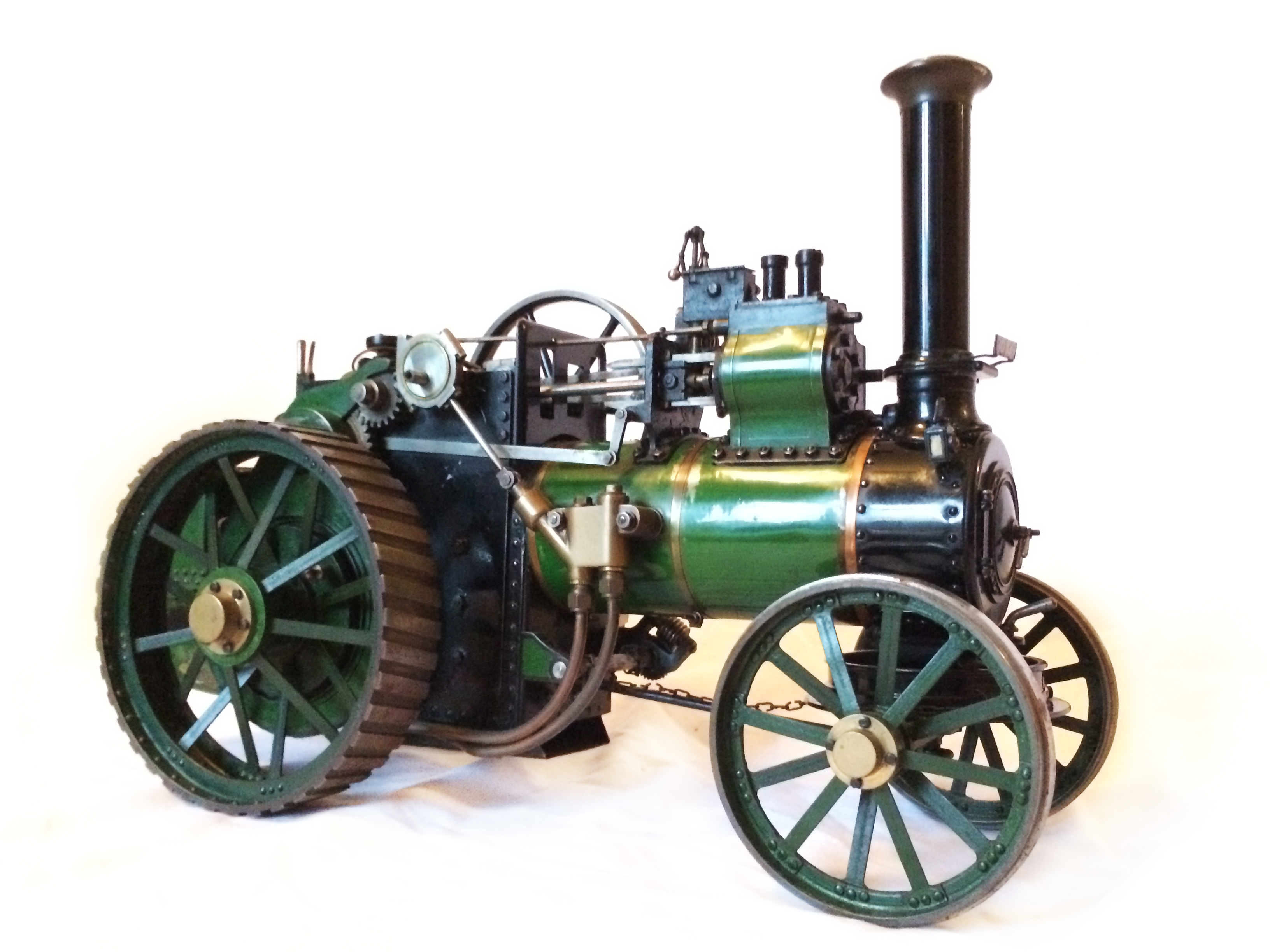 test Davey Paxman Traction Engine 16
