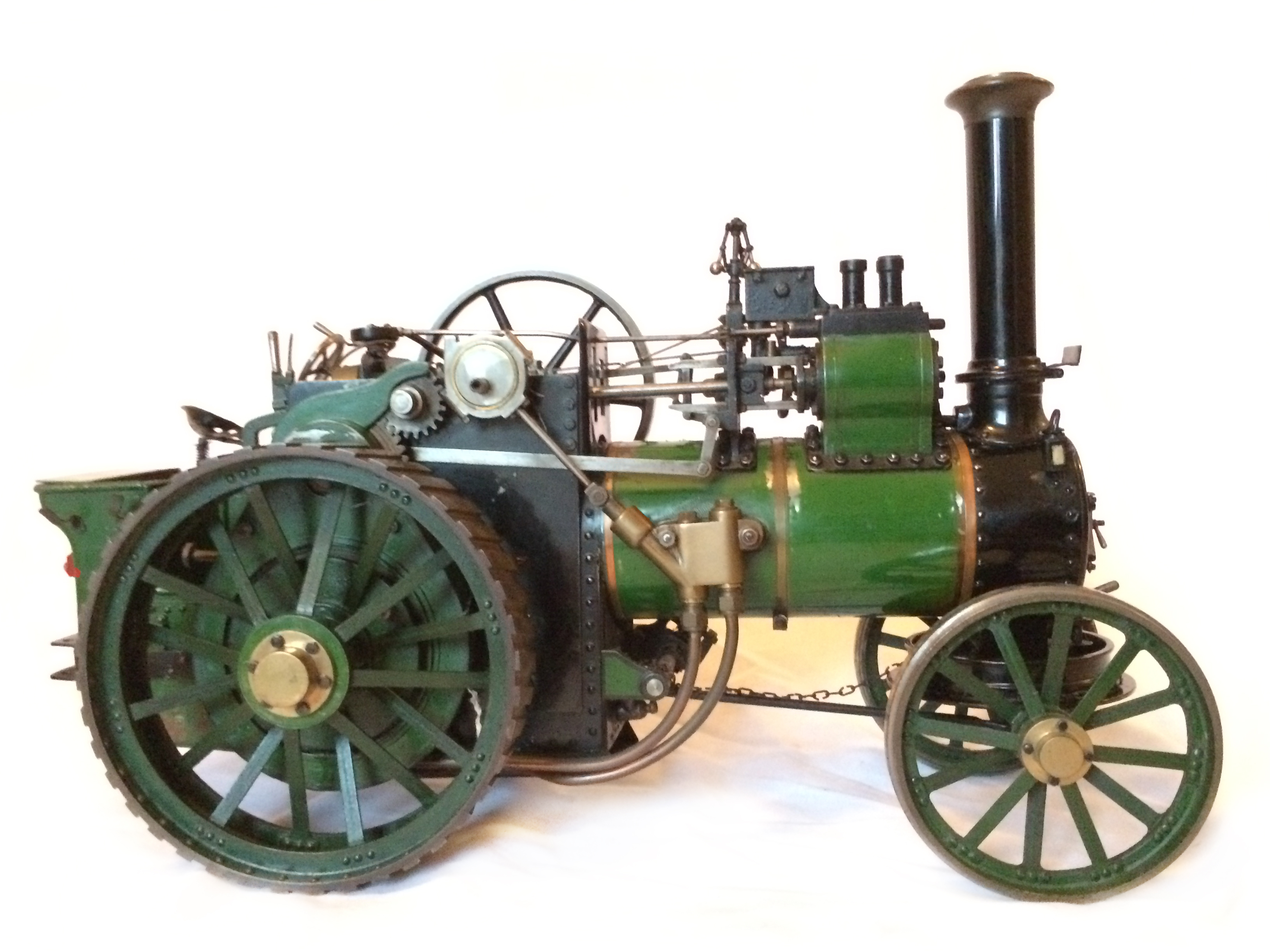 test Davey Paxman Traction Engine 17
