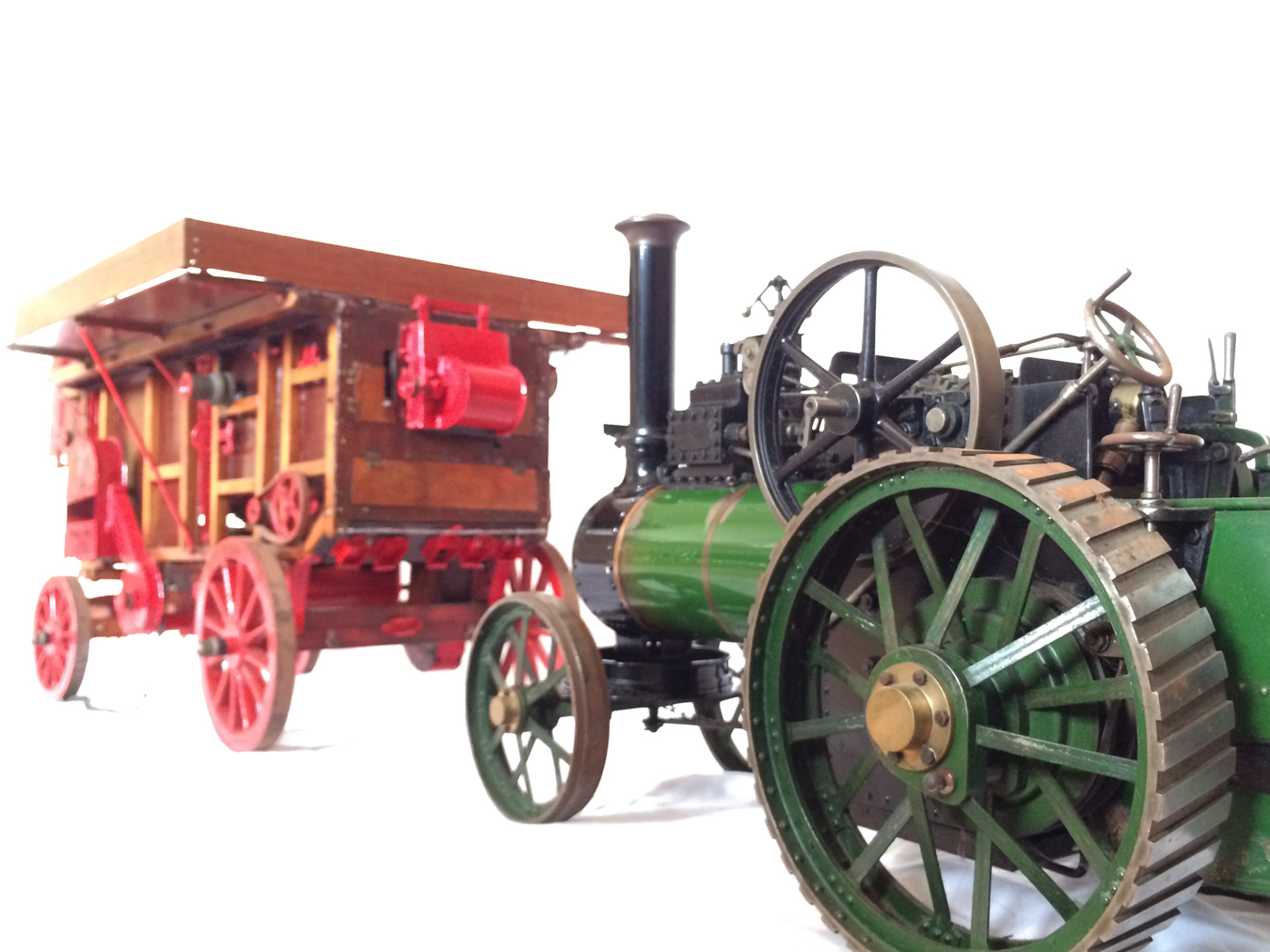 test Marshall Threshing Machine 01