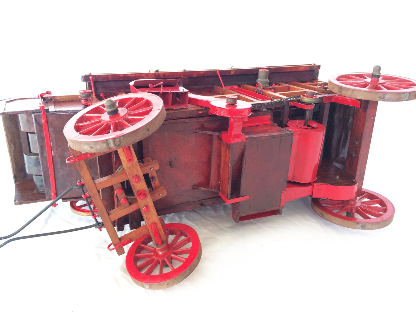 test Marshall Threshing Machine 34