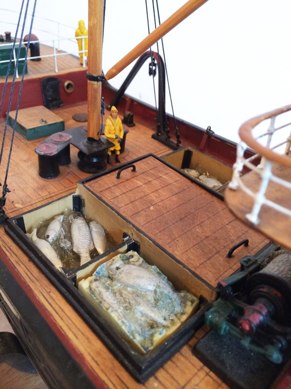 test Milford Star model Steam trawler 09