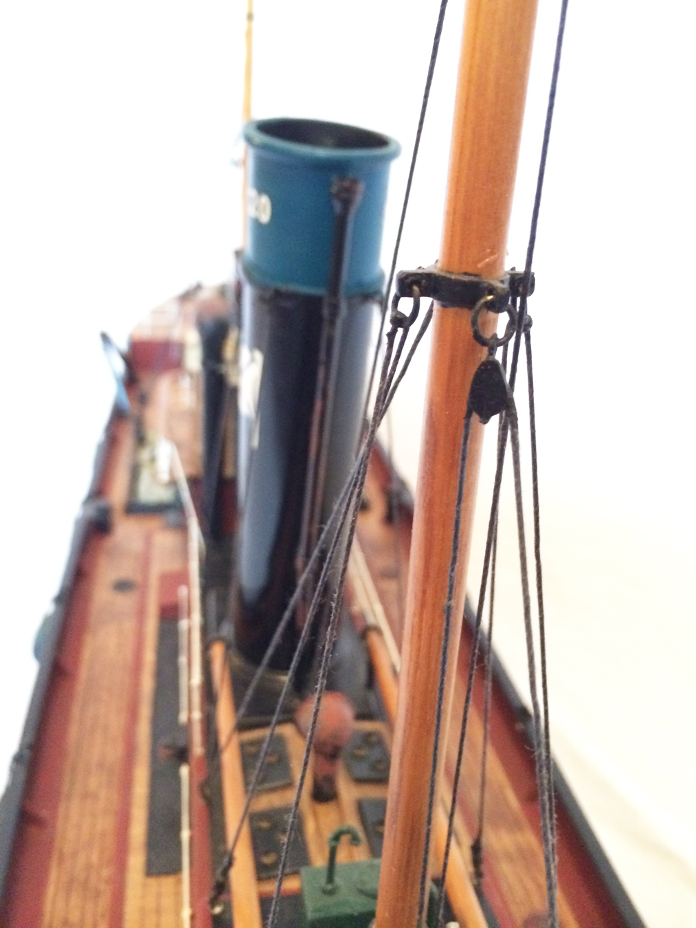 test Milford Star model Steam trawler 10