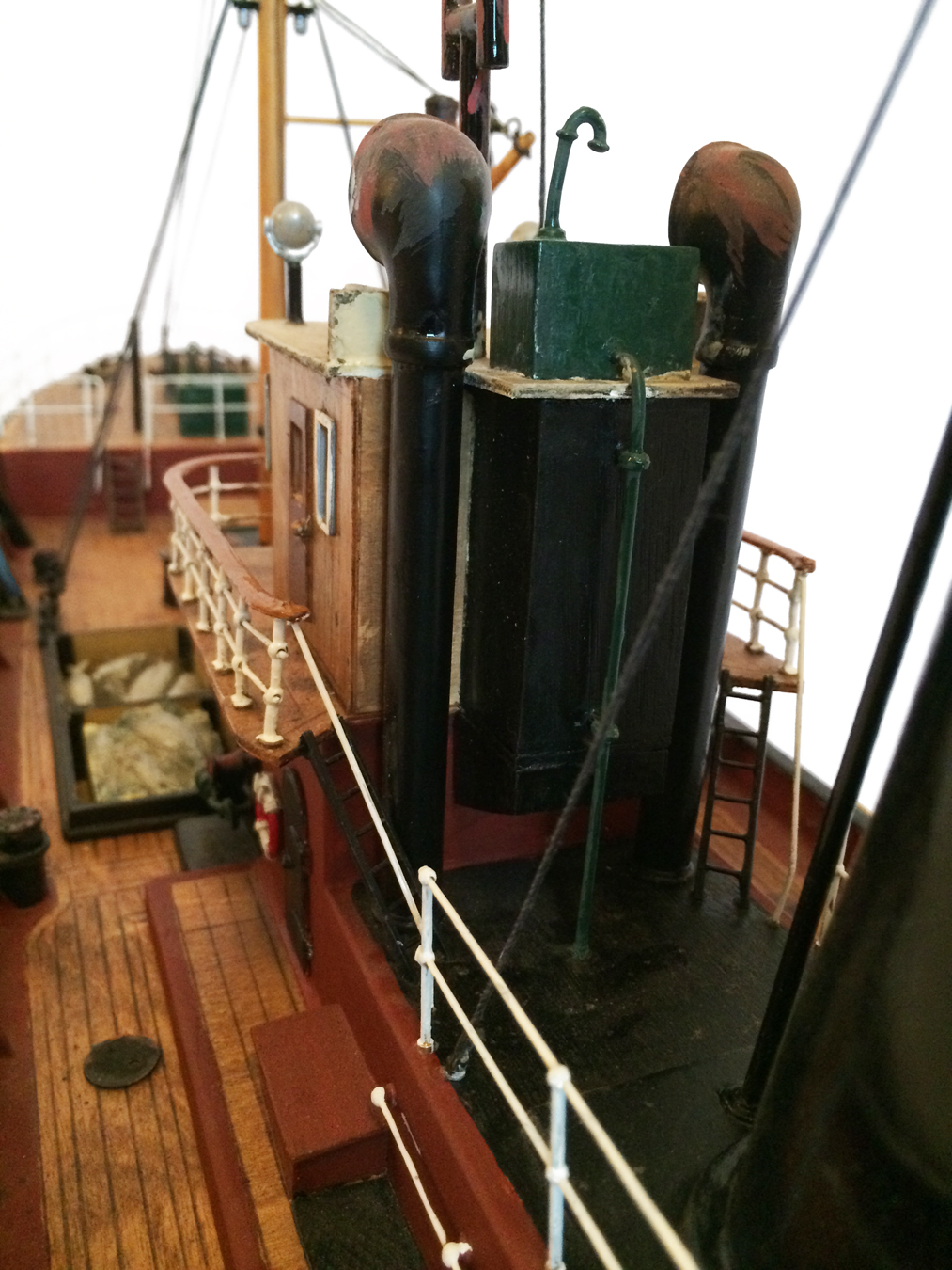 test Milford Star model Steam trawler 11