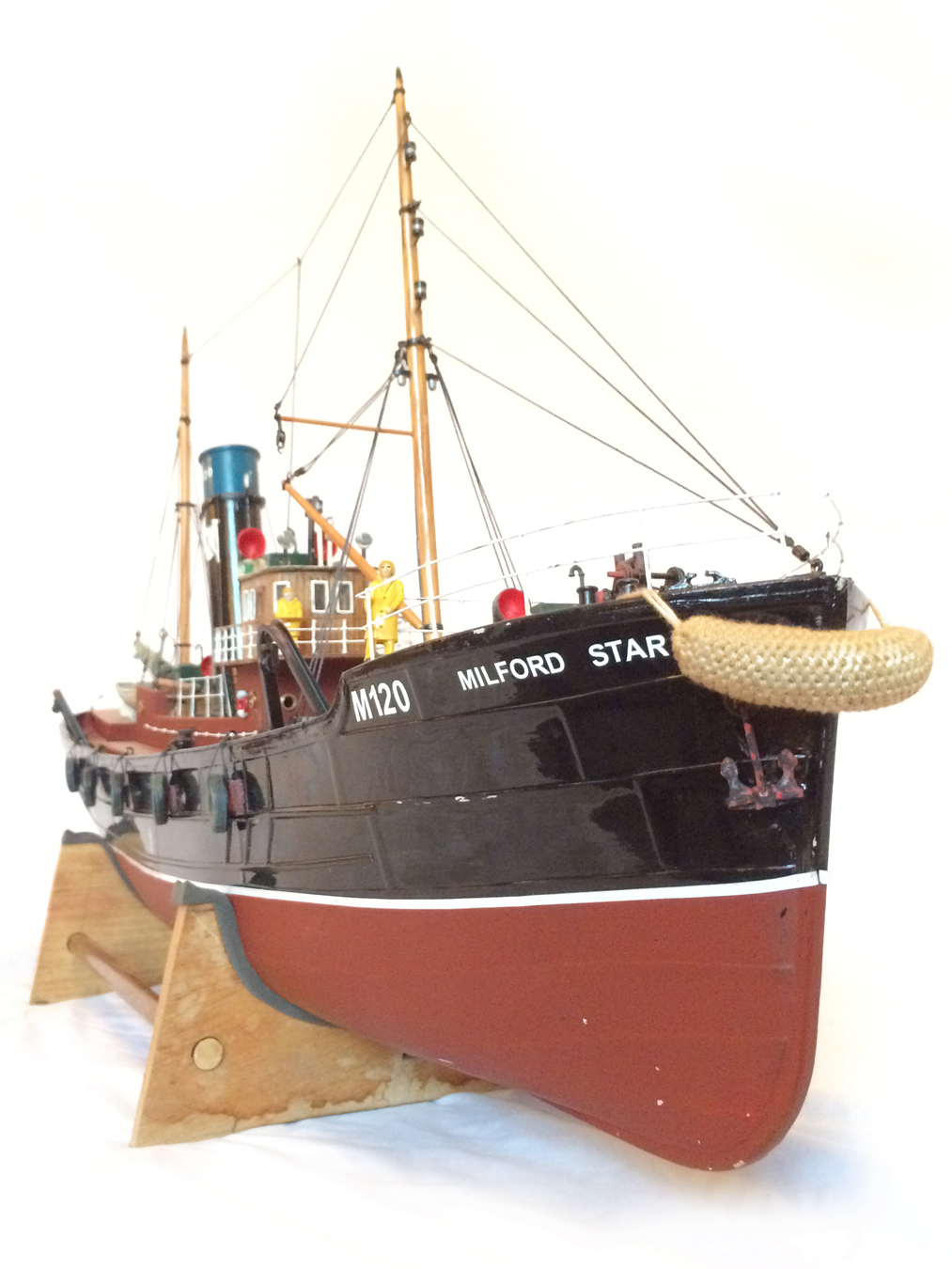 test Milford Star model Steam trawler 14