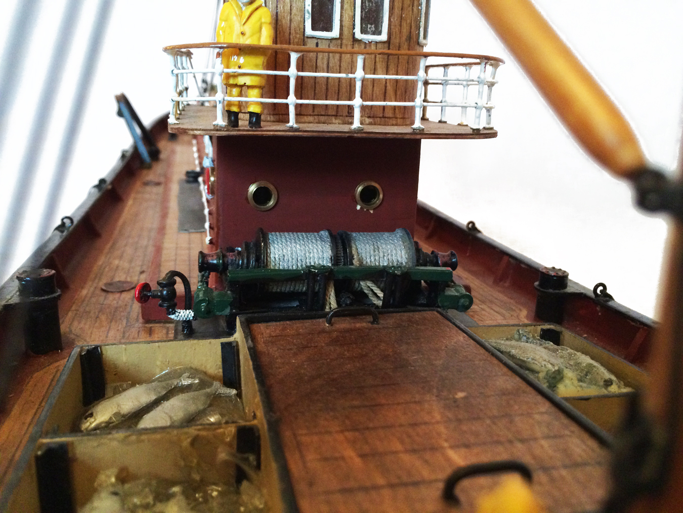 test Milford Star model Steam trawler 16
