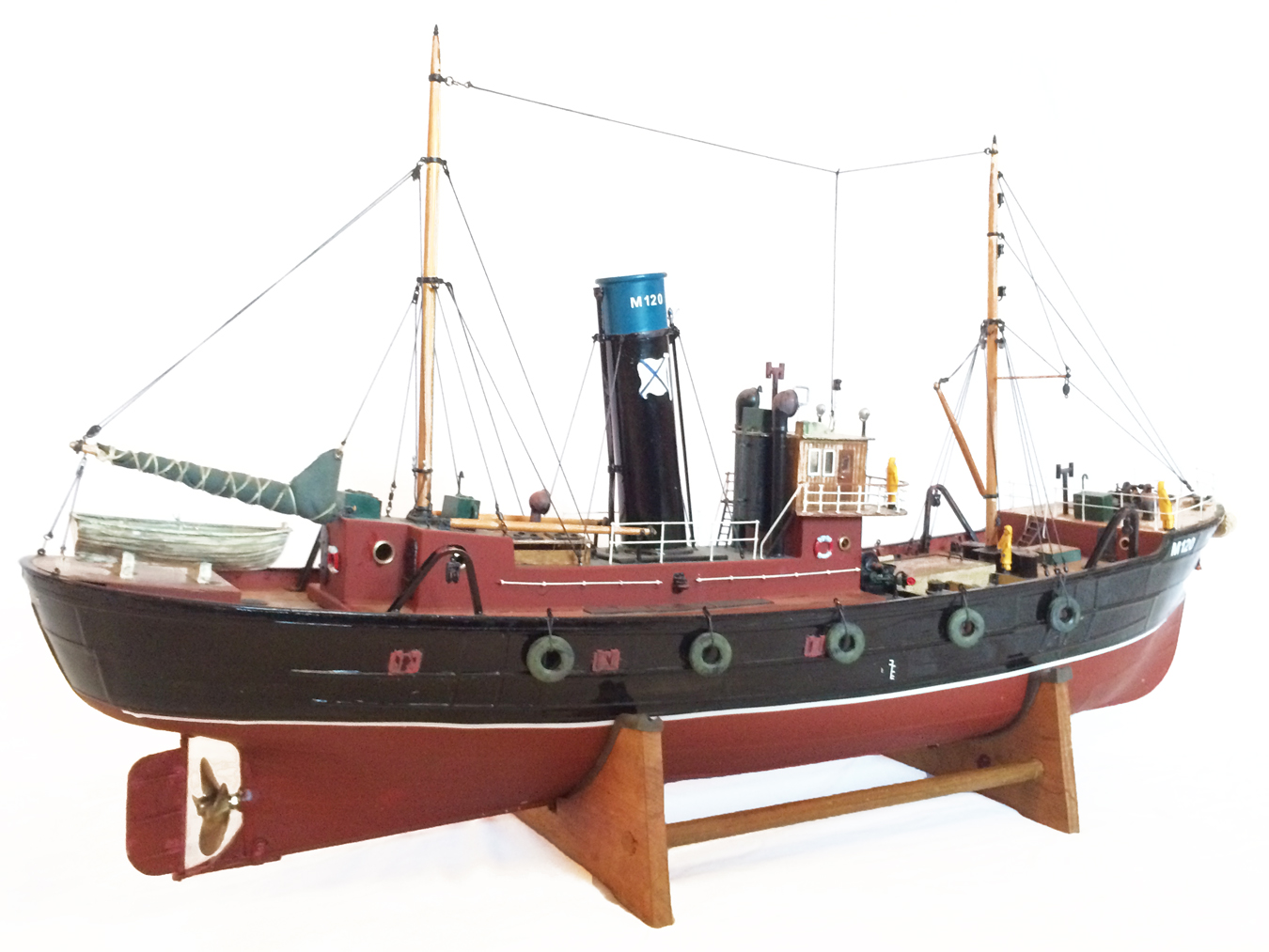 test Milford Star model Steam trawler 18