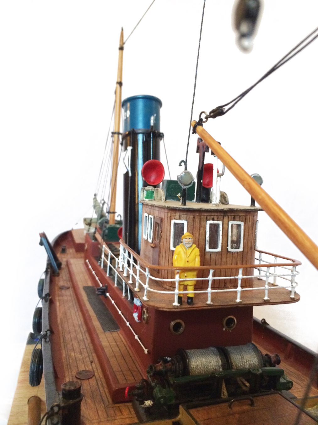 test Milford Star model Steam trawler 24
