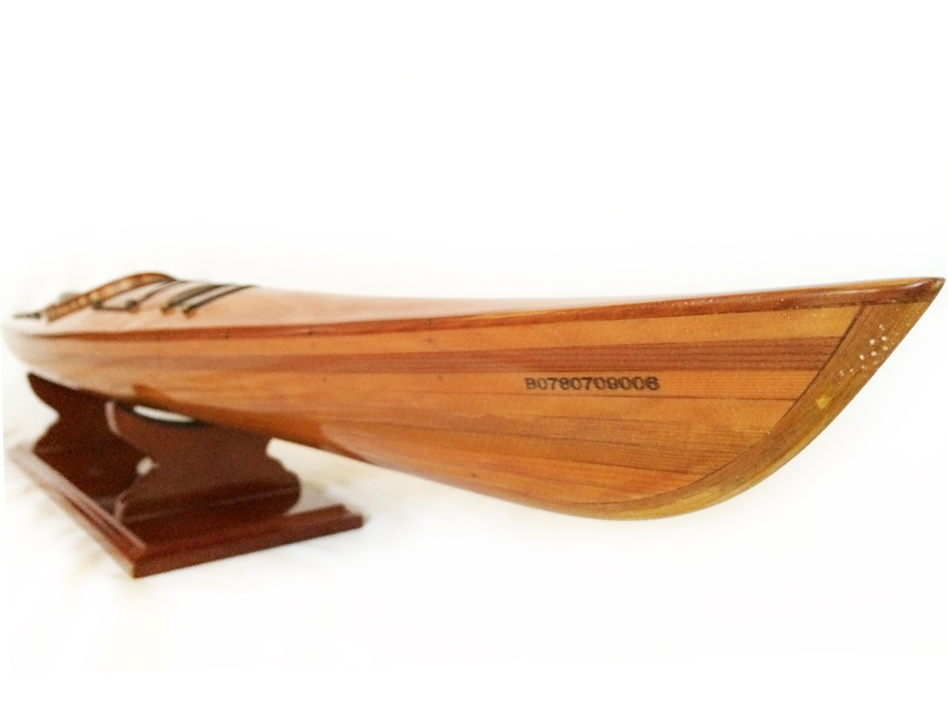 test Model Kayak Canoe boat cedar 02