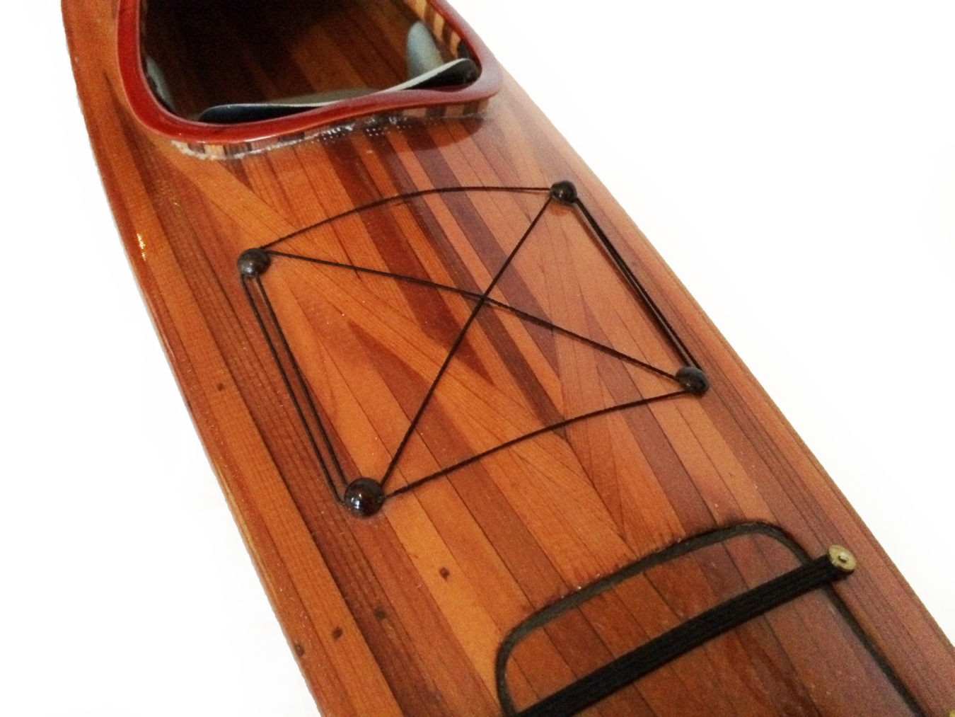 test Model Kayak Canoe boat cedar 04
