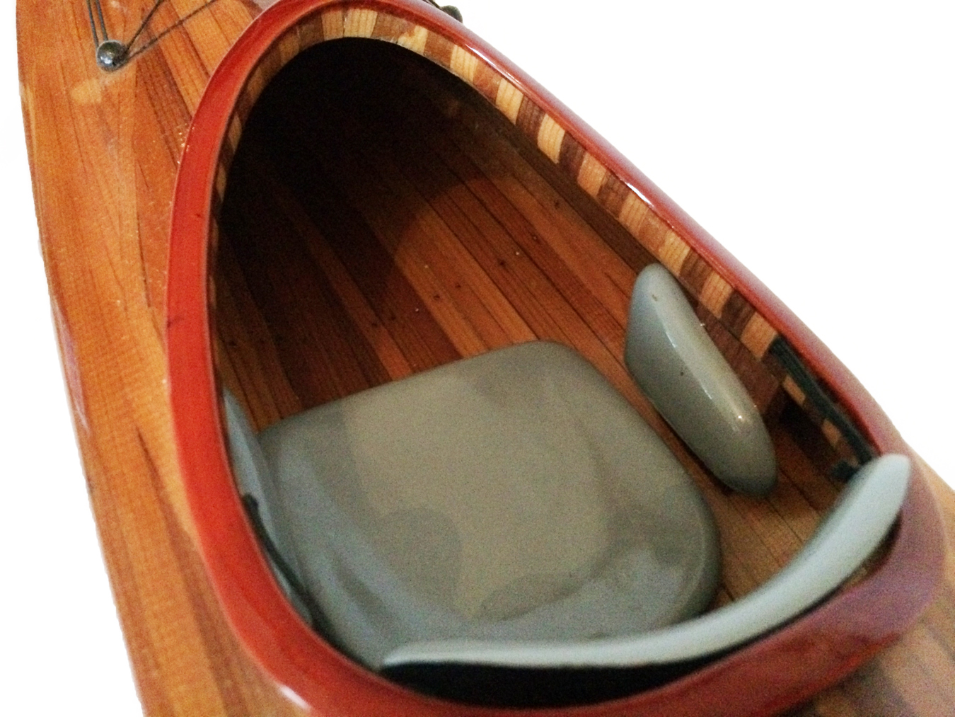 test Model Kayak Canoe boat cedar 05
