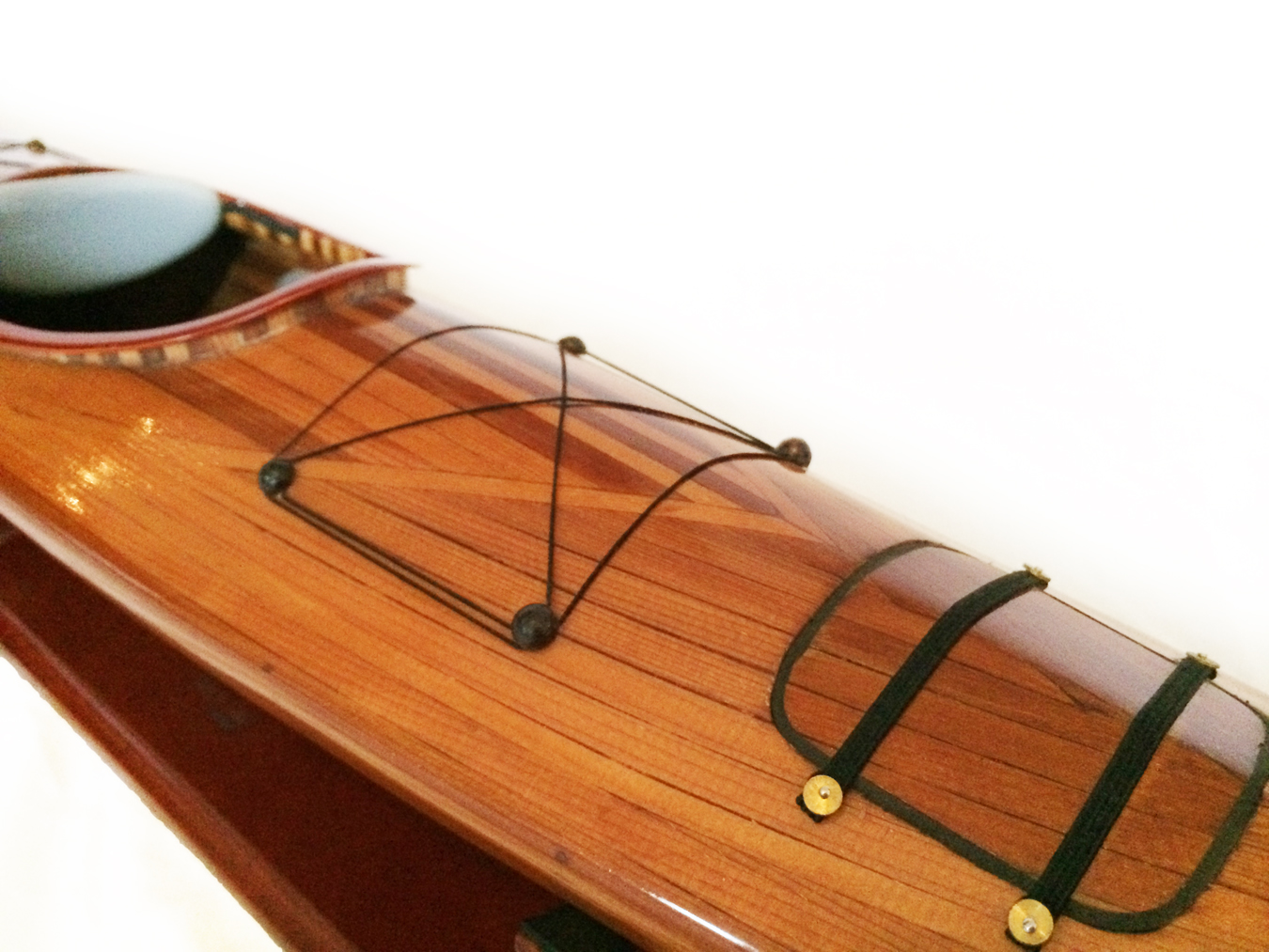 test Model Kayak boat cedar 01