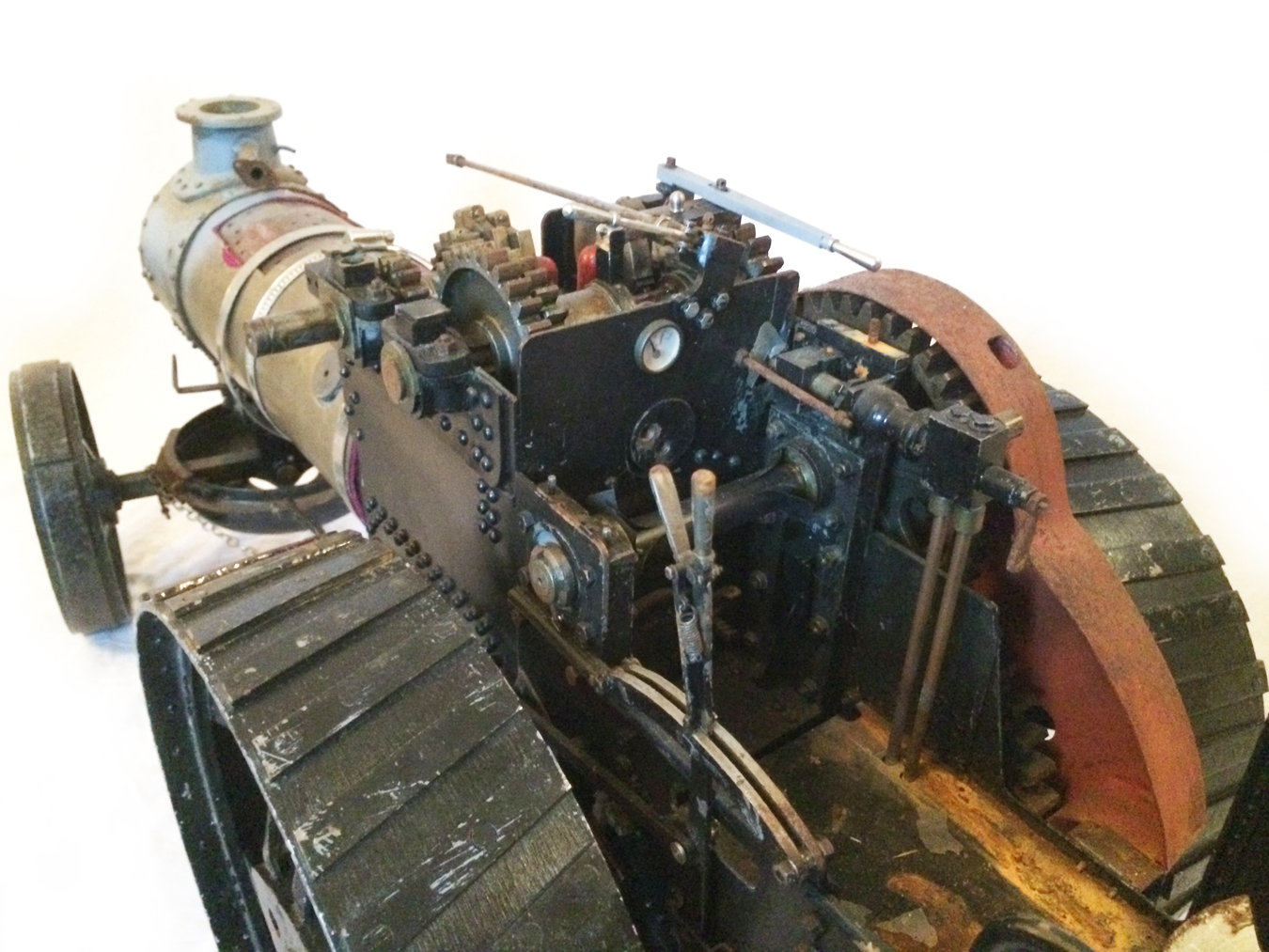 test 2 inch scale Fowler A7 Live Steam Traction Engine for sale 02